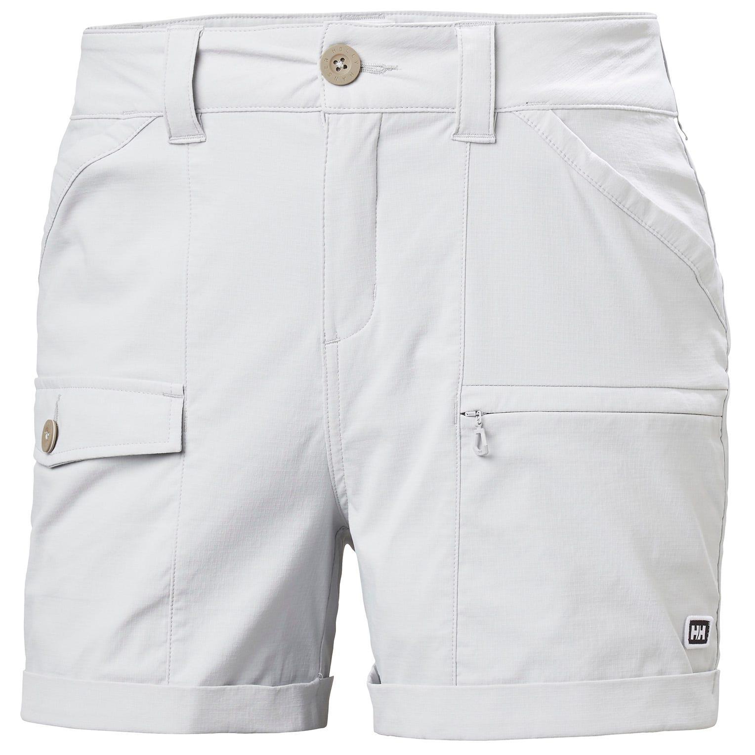 Womens Maridalen Quick Dry Cargo Shorts | Uk Helly Hansen Womens Hiking Trouser Grey L