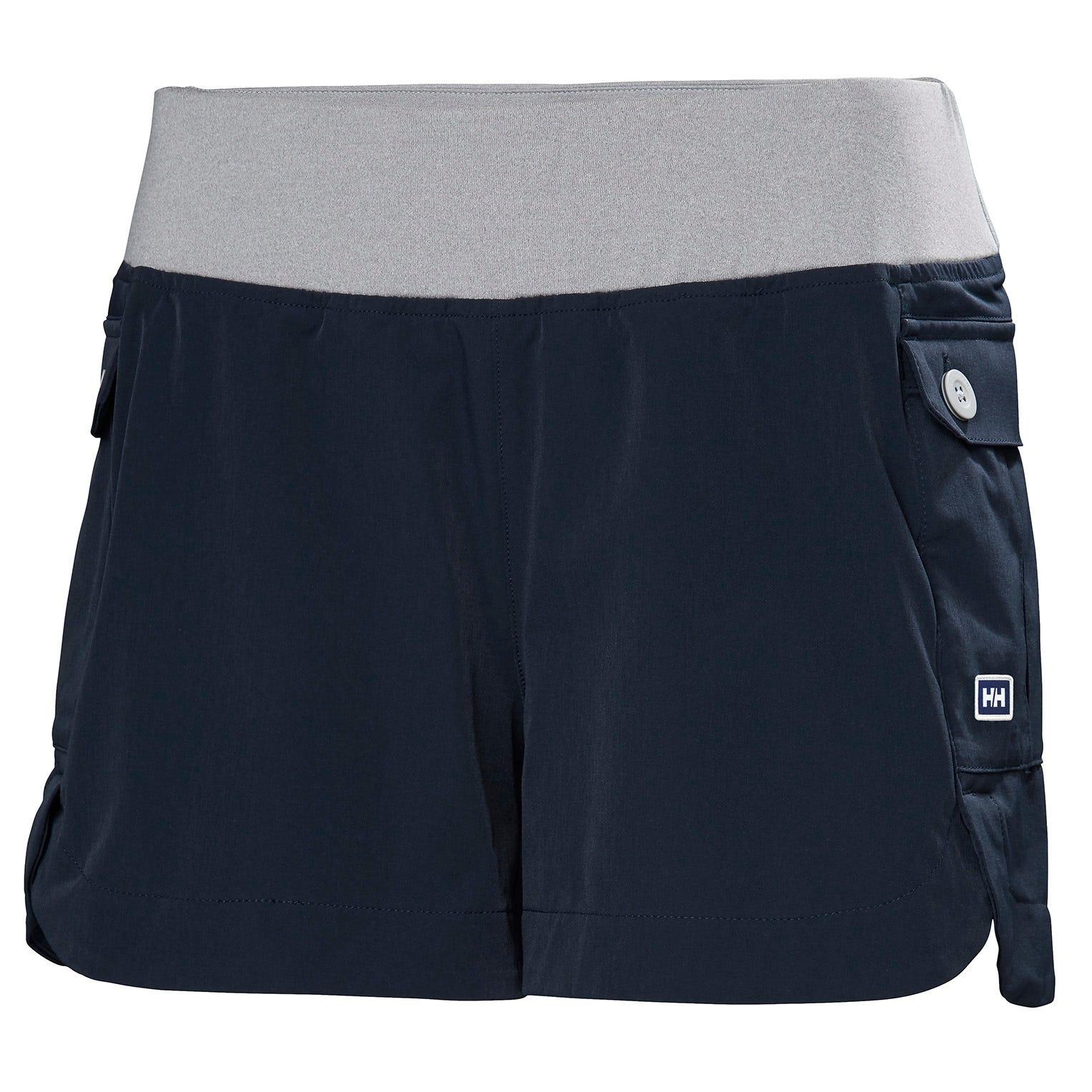 Womens Vetta Quick-dry Stretch Shorts | Uk Helly Hansen Womens Hiking Trouser Navy XS