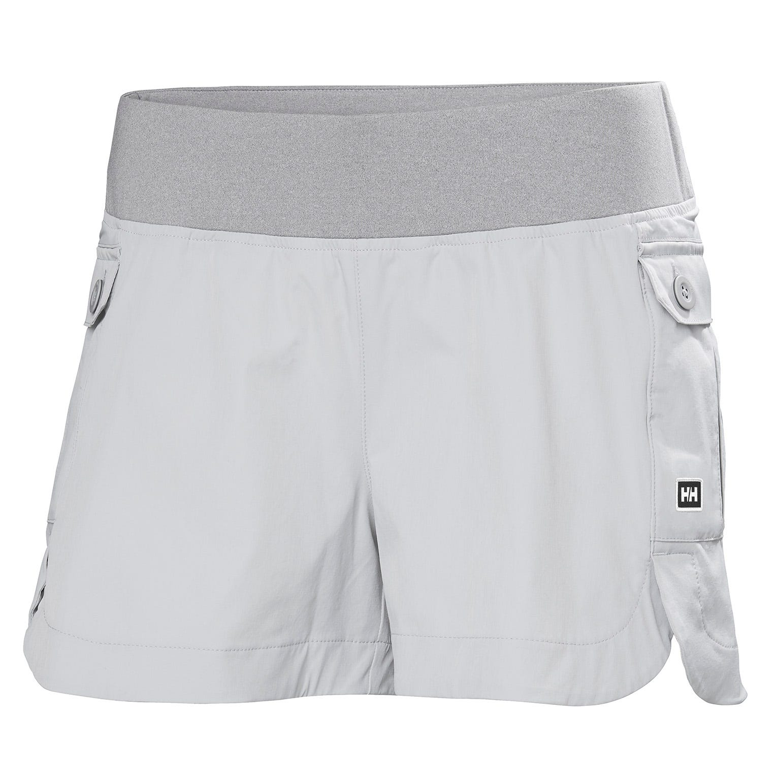 Womens Vetta Quick-dry Stretch Shorts | Uk Helly Hansen Womens Hiking Trouser Grey XS