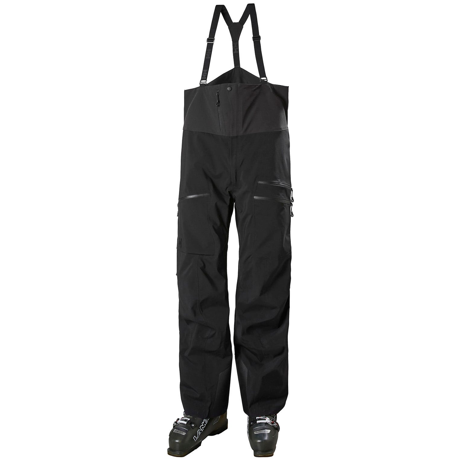 Helly Hansen Mens Odin Mountain 3l Shell Bib Hiking Trouser Black M