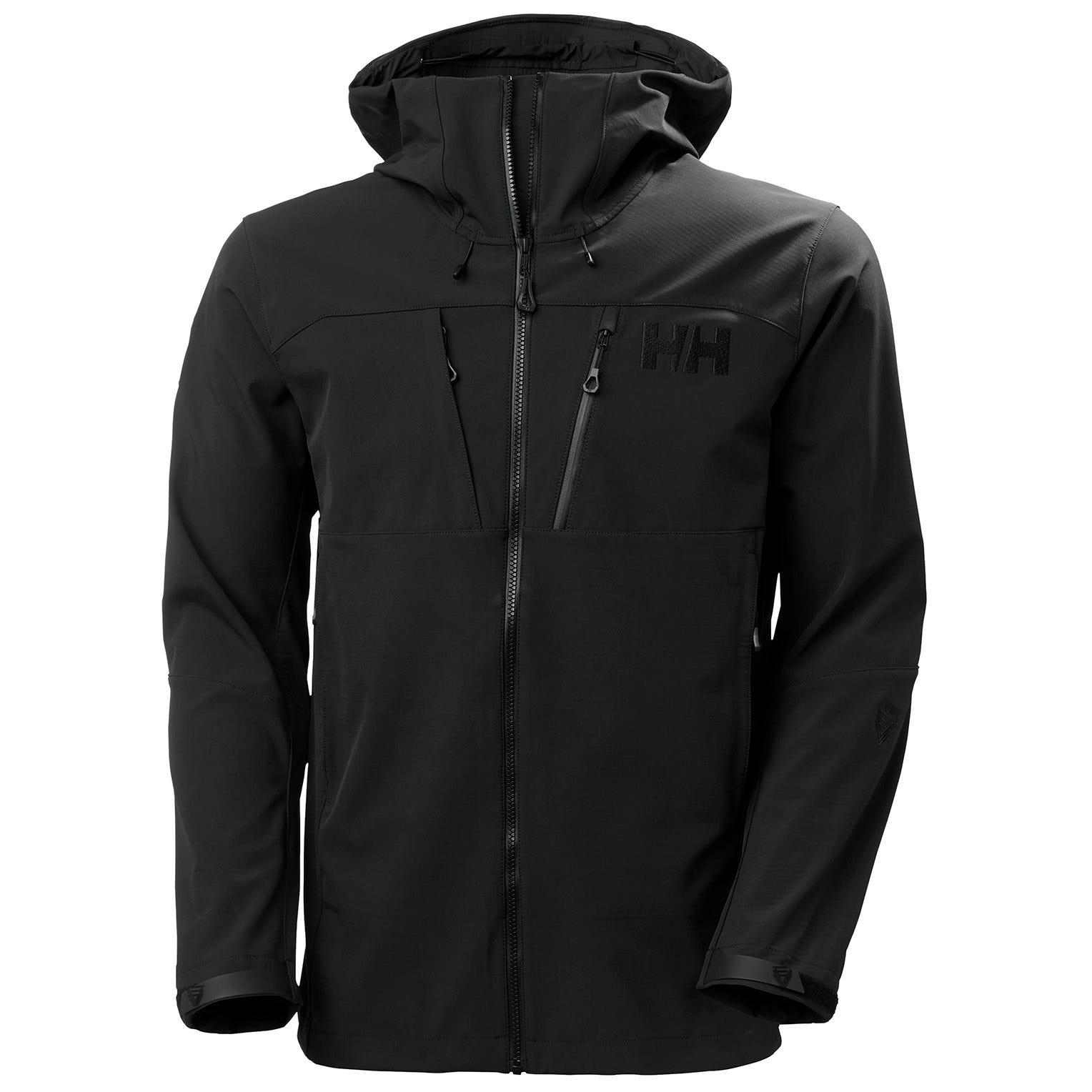 Helly Hansen Mens Odin Mountain Hybrid Softshell Jacket Black M