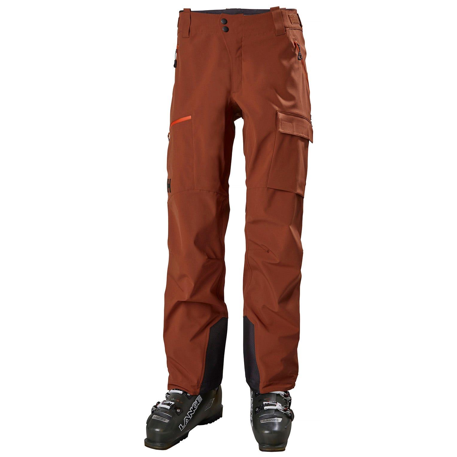 Mens Odin Mountain Hybrid Softshell Ski Trousers | Uk Helly Hansen Mens Shell Trouser L