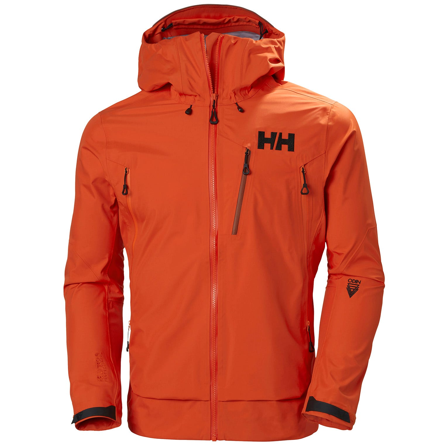 Mens Odin 9 Worlds 2.0 Shell Jacket | Mountain Helly Hansen Mens Hiking S