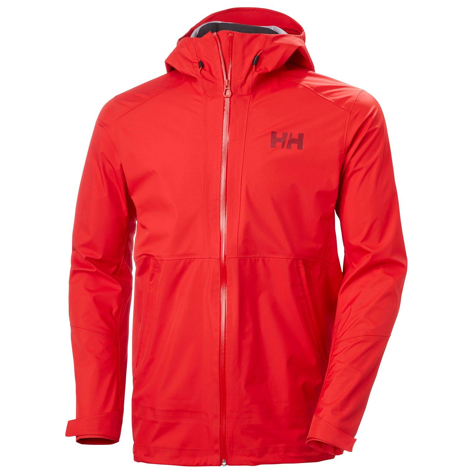 Helly Hansen Vimer 3l Shell Jacket Mens Hiking Red M