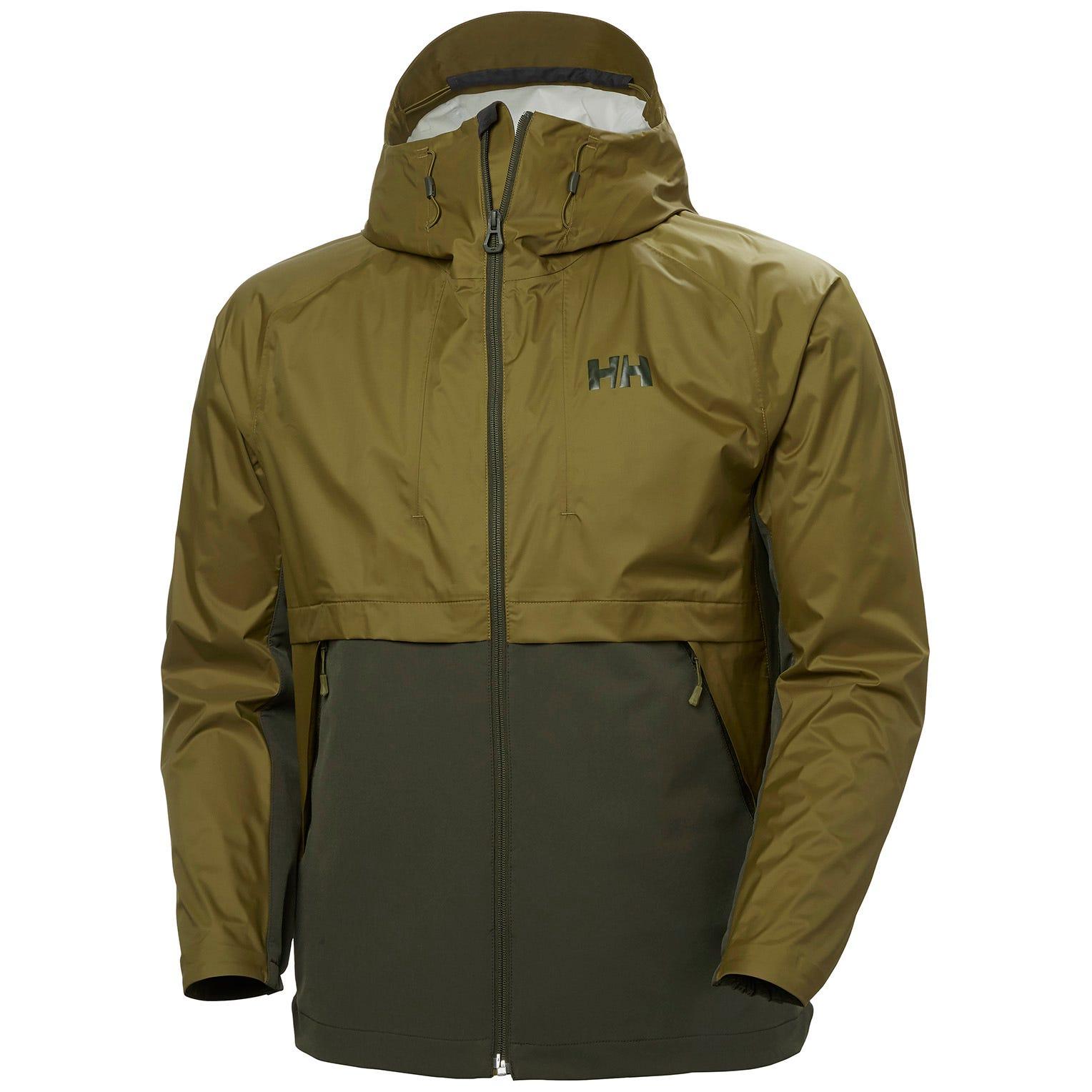Helly Hansen Logr Jacket 2.0 Mens Hiking Green M