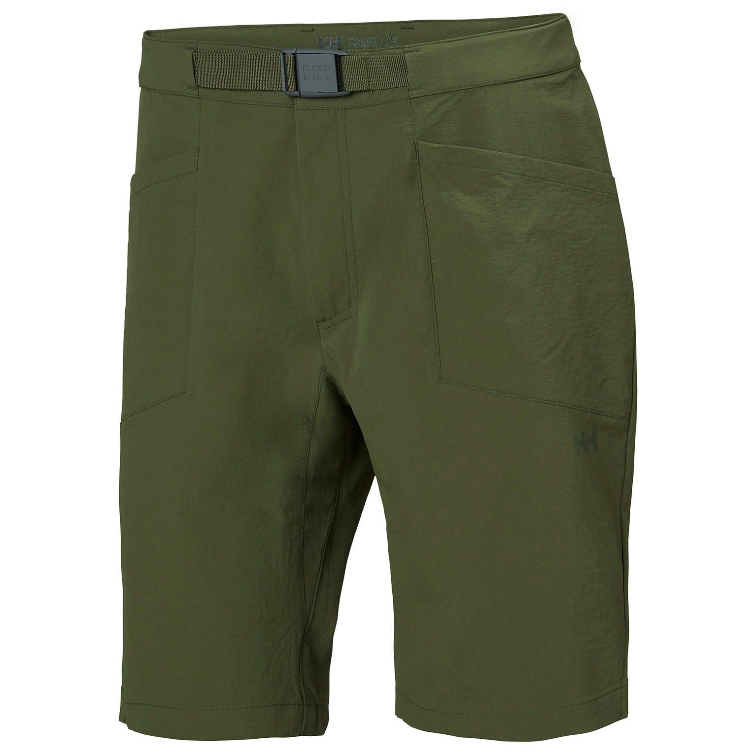 Mens Tinden Lightweight Stretch Shorts | Helly Hansen Mens Hiking Trouser Green XL