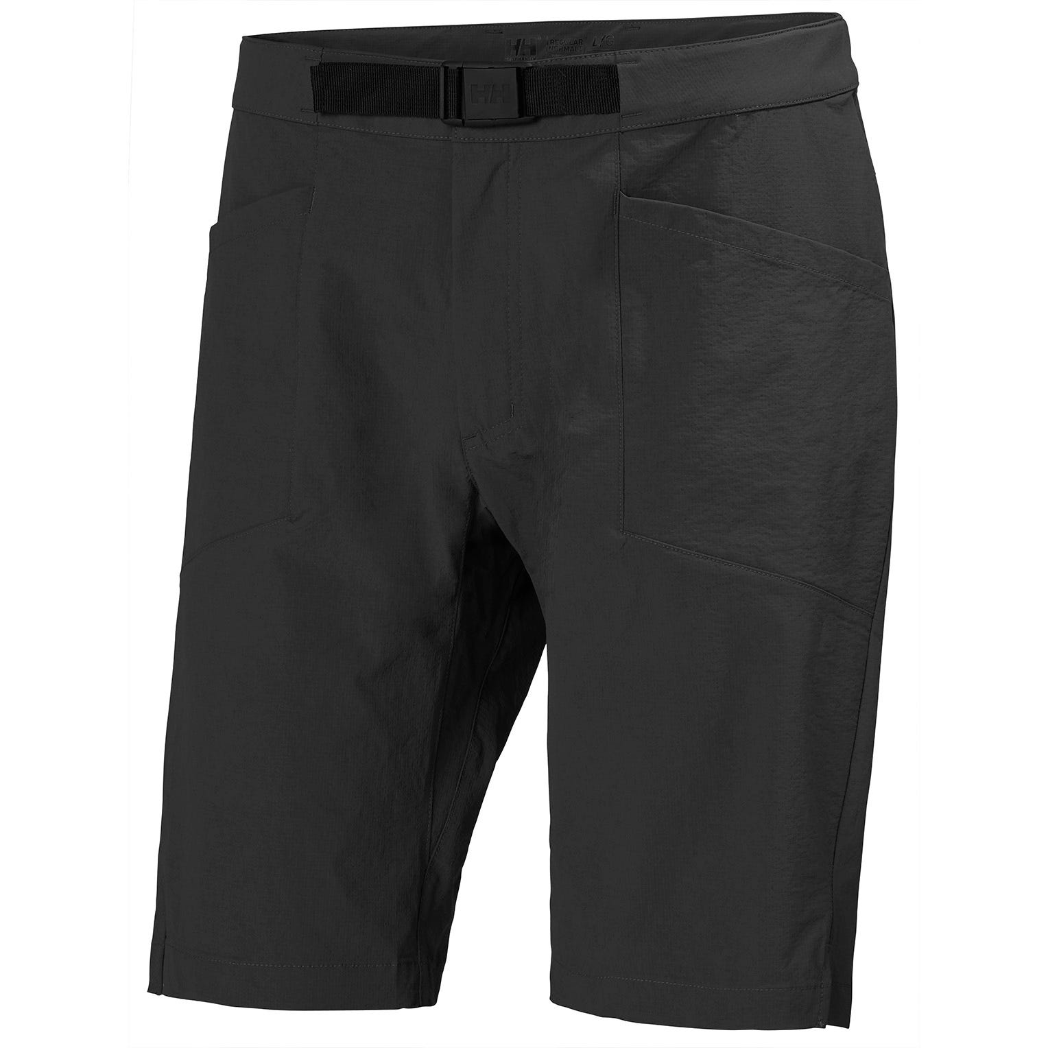 Mens Tinden Lightweight Outdoor Shorts | Uk Helly Hansen Mens Hiking Trouser Black S