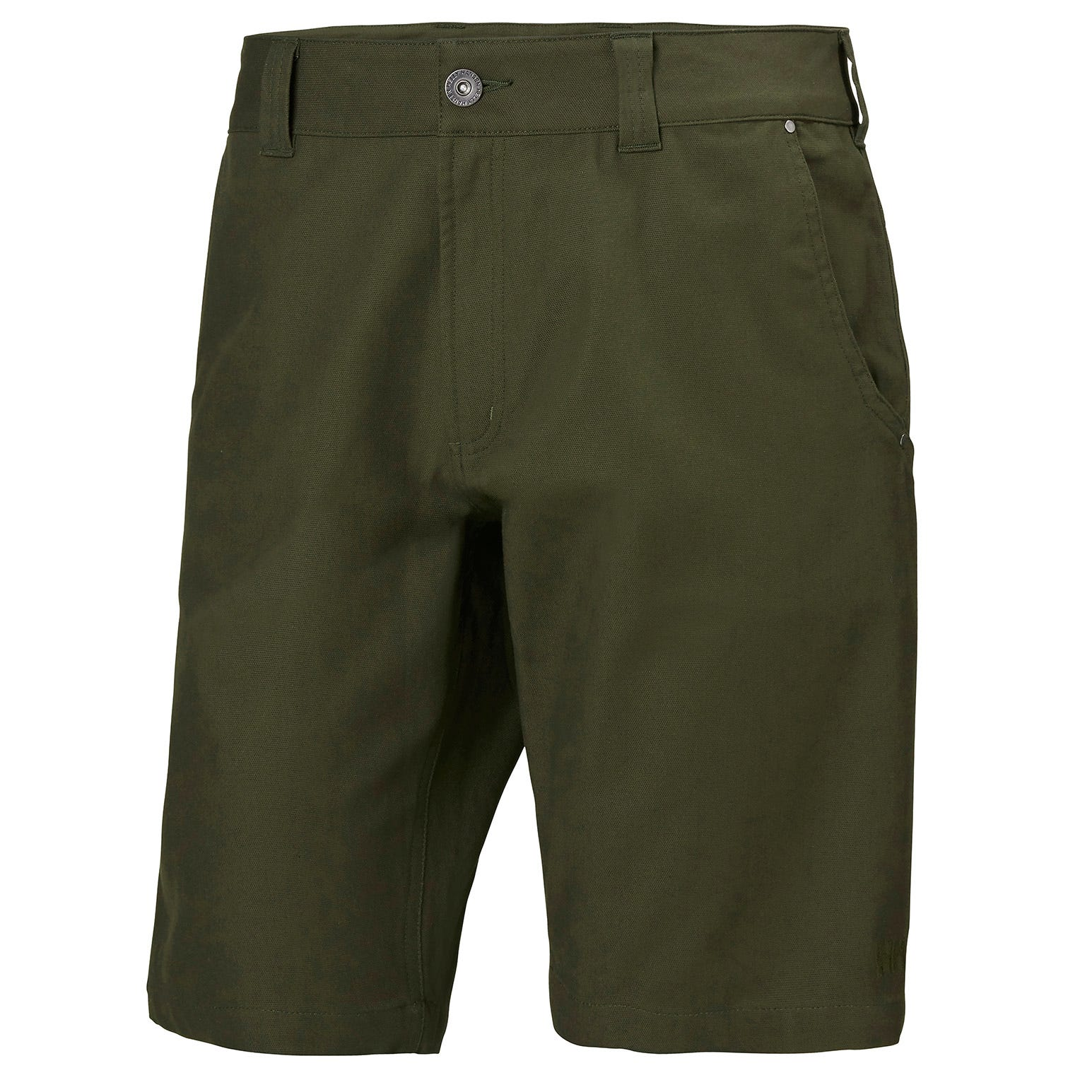 Helly Hansen Mens Essential Canvas Shorts Hiking Trouser Green M