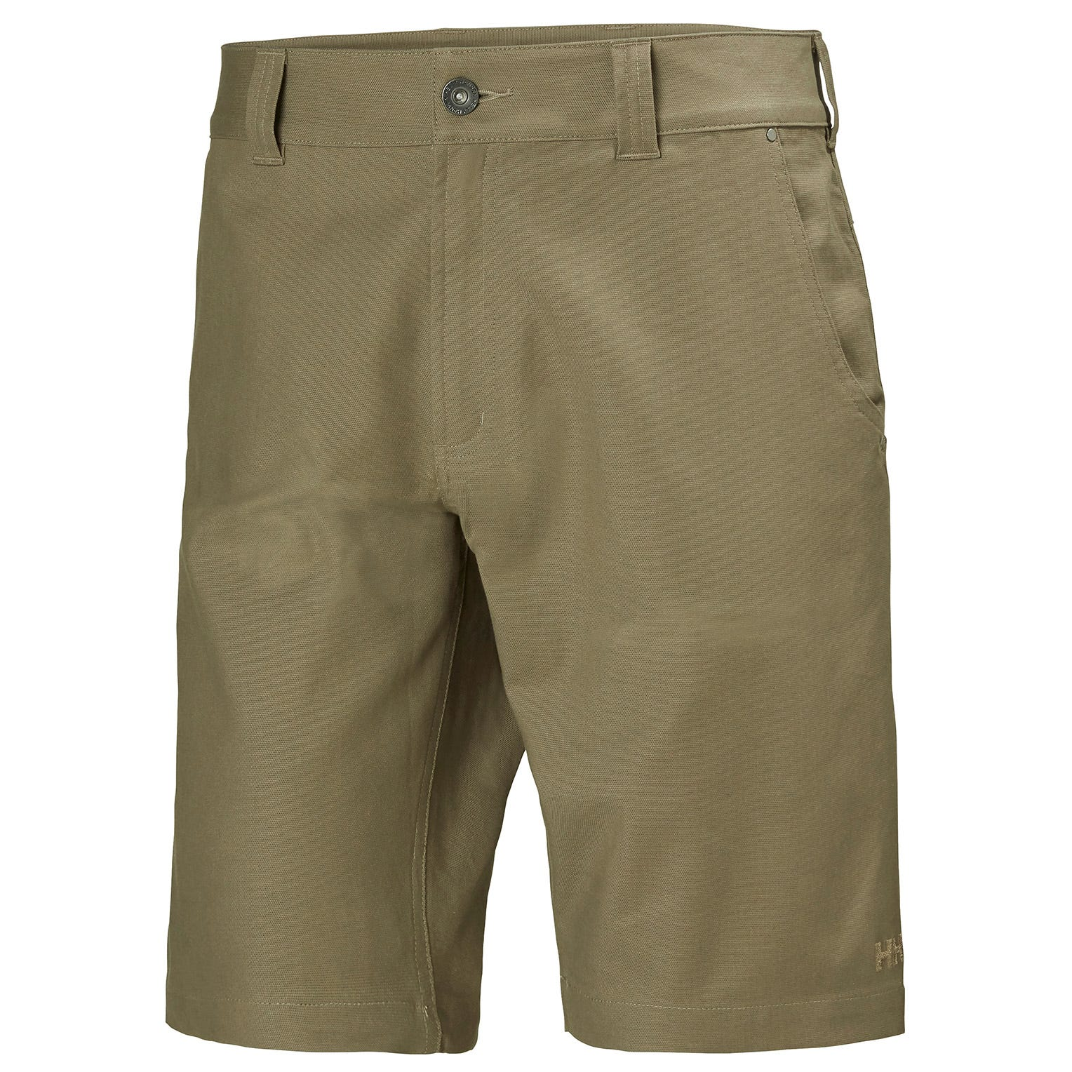 Mens Essential Canvas 5-pocket Hiking Shorts | Uk Helly Hansen Mens Trouser Beige L