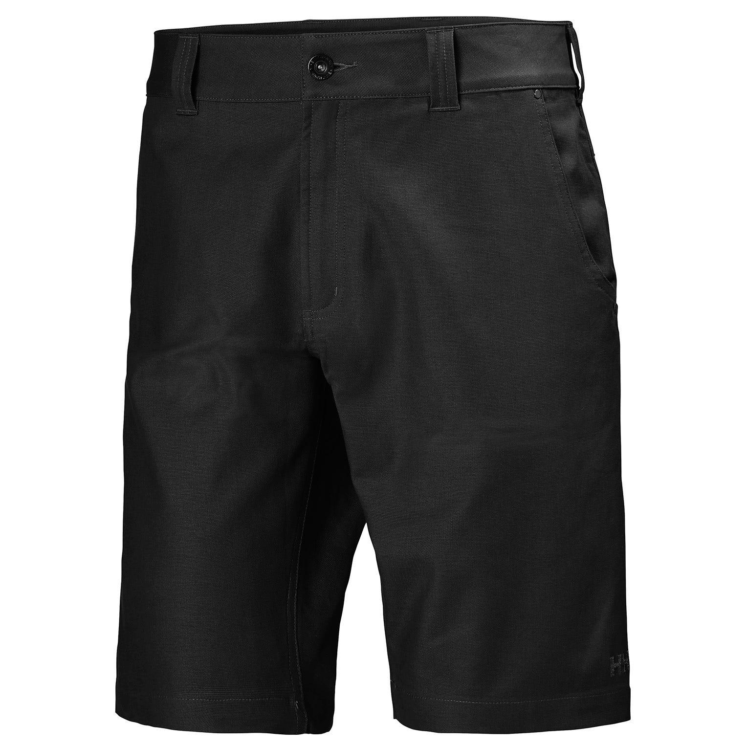 Mens Essential Canvas 5-pocket Hiking Shorts | Uk Helly Hansen Mens Trouser Black L