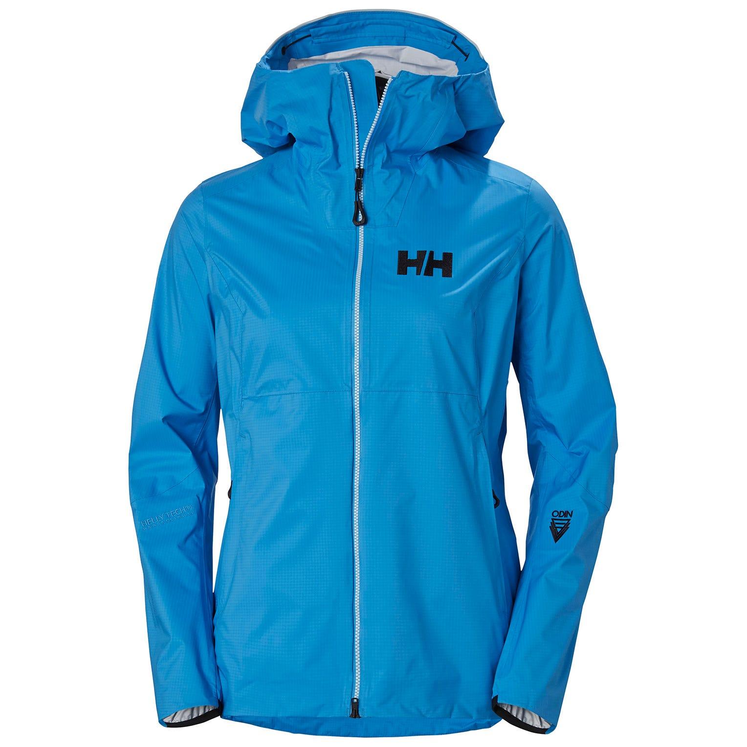 Helly Hansen W Odin 3d Air Shell Jacket Womens Hiking L