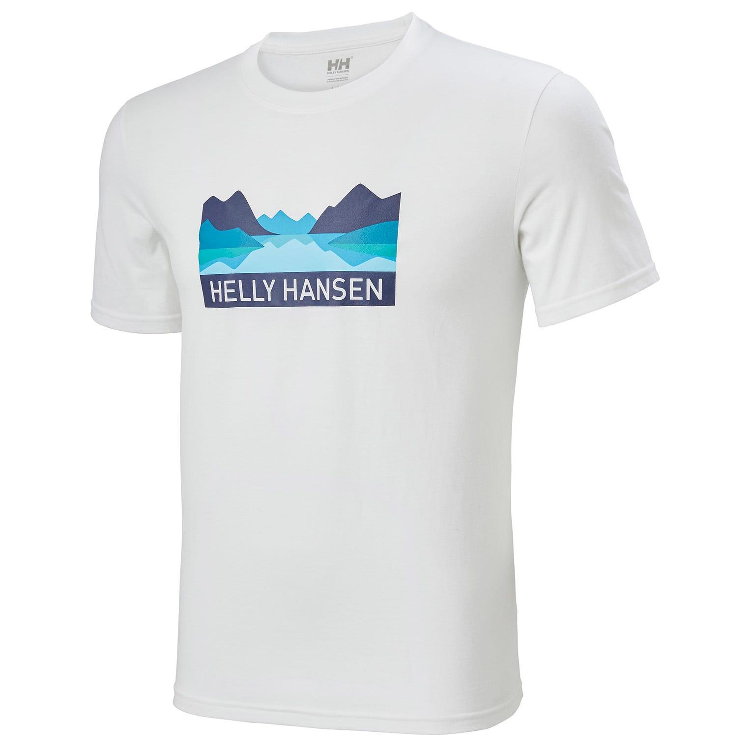 Helly Hansen Nord Graphic Tshirt   XXL White