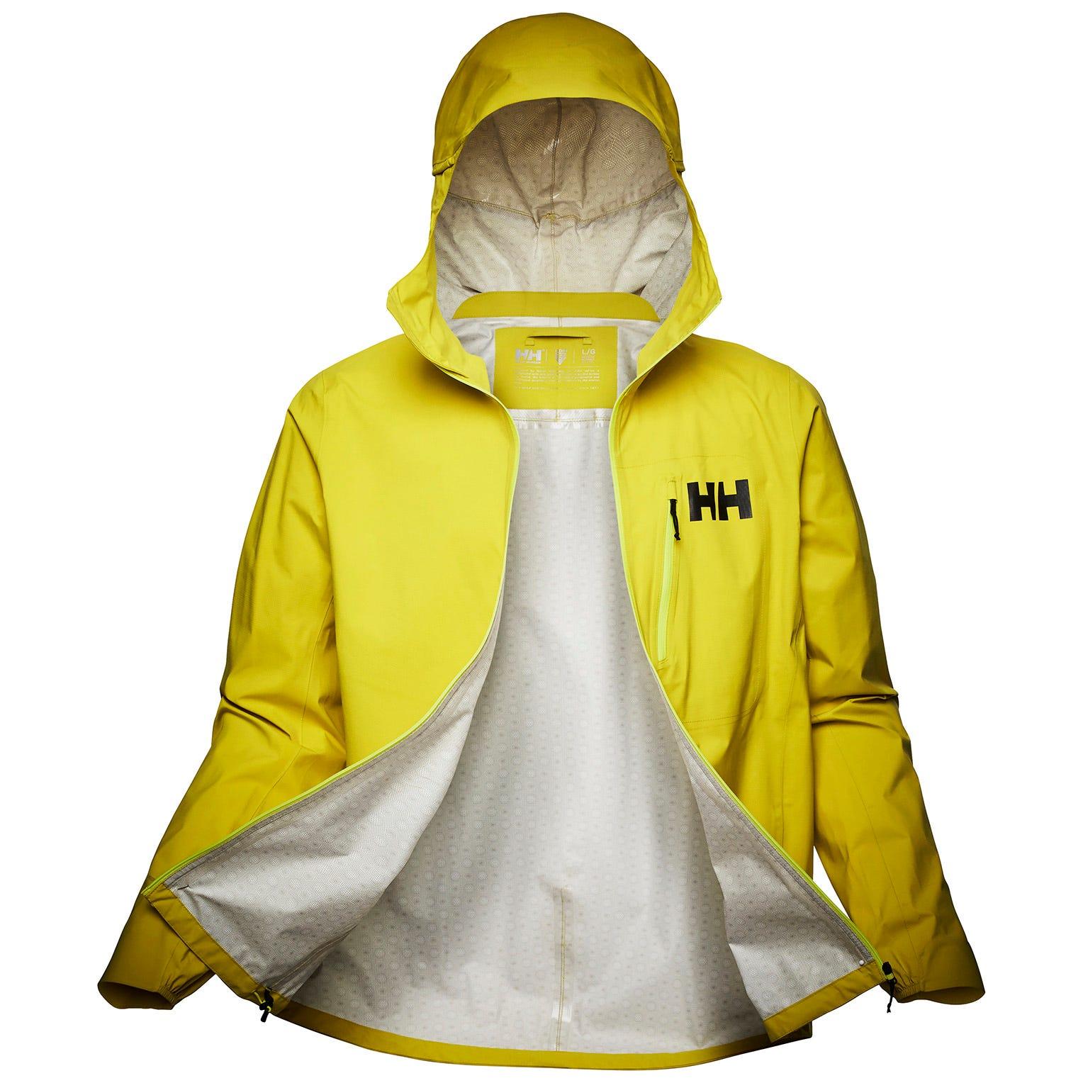 Helly Hansen Mens Odin Minimalist Infinity Jacket Yellow L