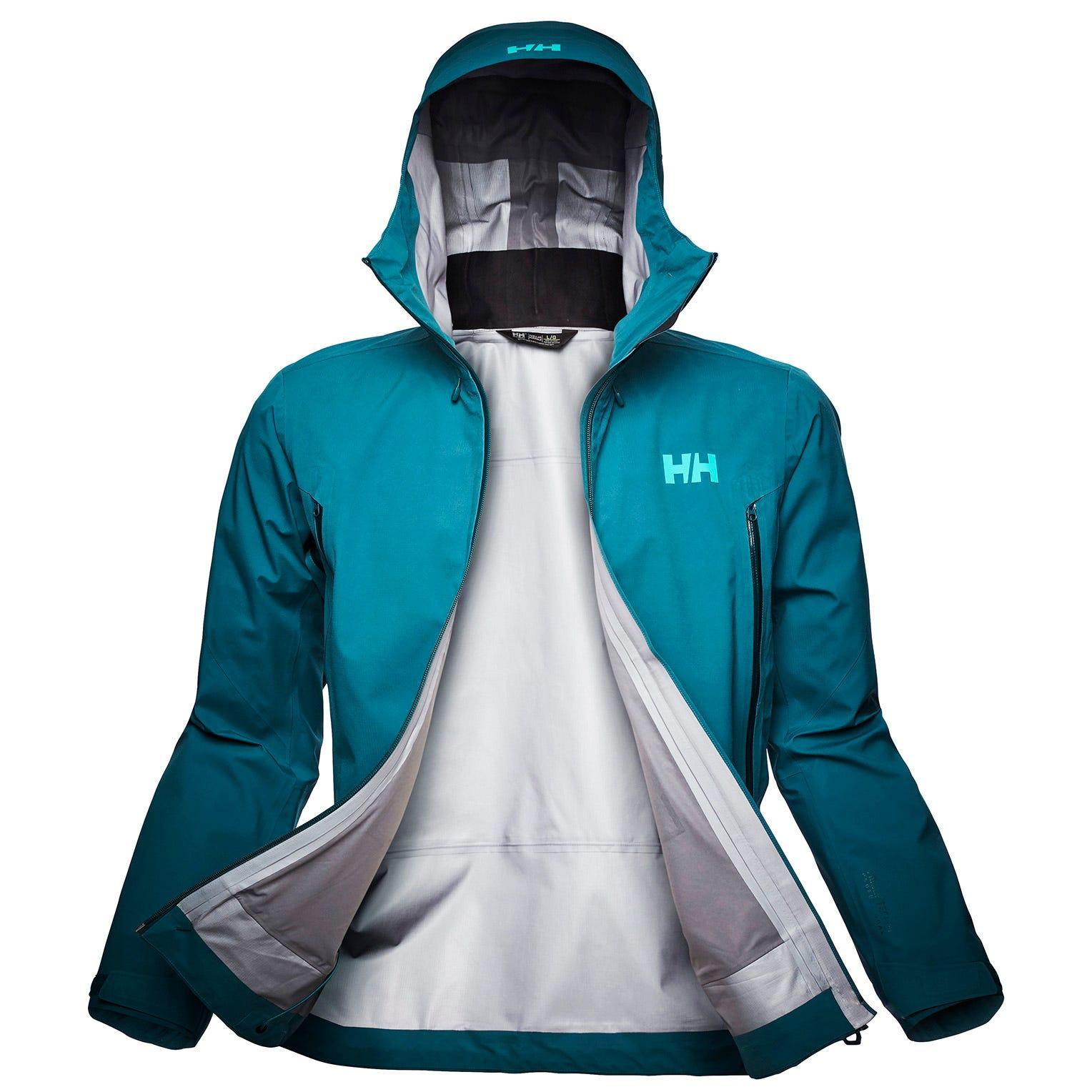 Helly Hansen Mens Verglas Infinity Outdoor Shell Jacket Blue XL
