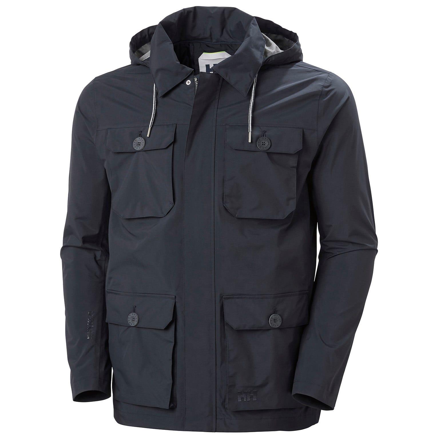 Helly Hansen Mens Kobe Field Rain Jacket Navy XL