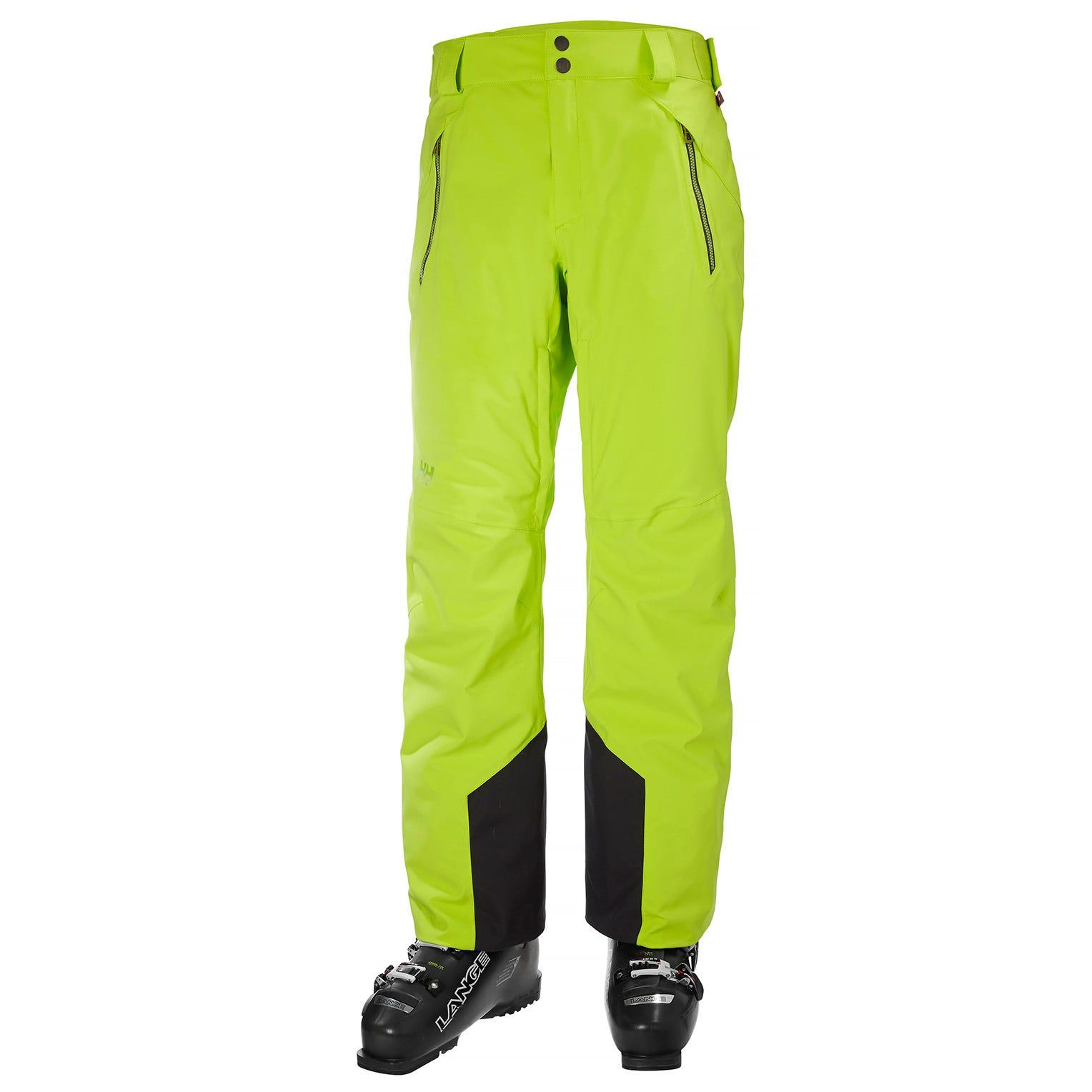 Helly Hansen Mens Force Ski Trouser Green L