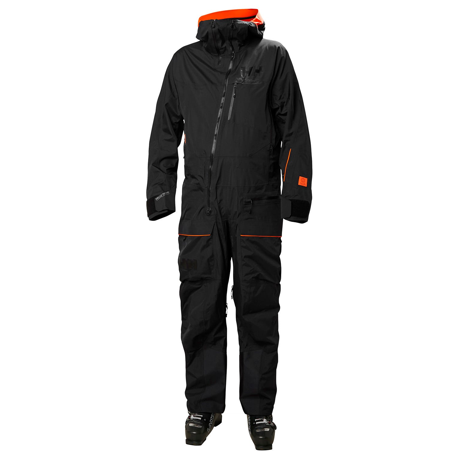 Helly Hansen Mens Ullr Powder Ski Suit Shell Trouser Black M