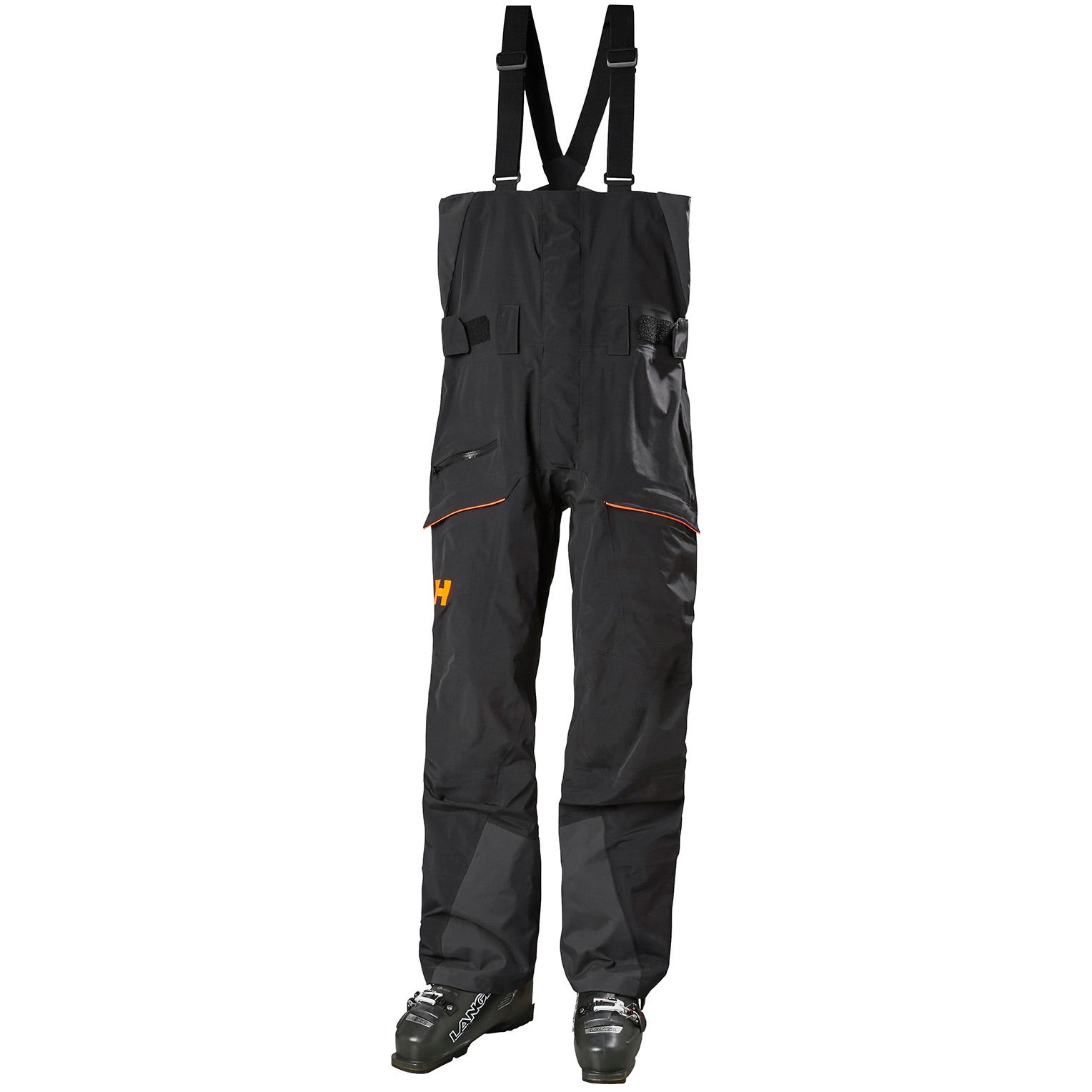 Helly Hansen Mens Sogn Bib Shell Ski Trousers Black XL