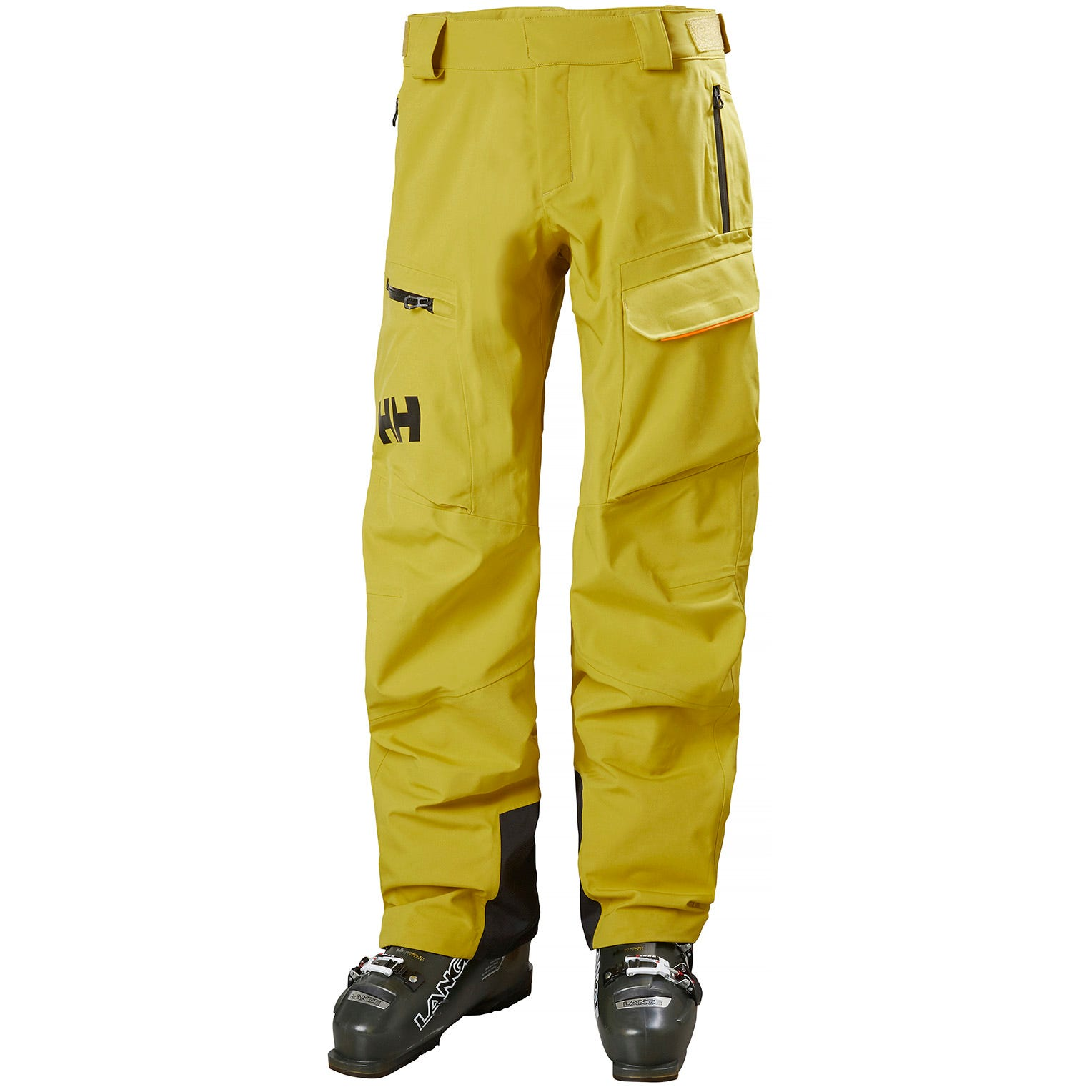 Helly Hansen Mens Ski Trouser Yellow L