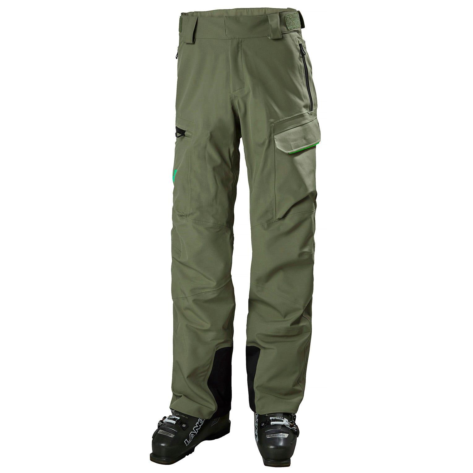 Mens Ridge Shell Durable Ski Trousers | Uk Helly Hansen Mens Trouser Green M