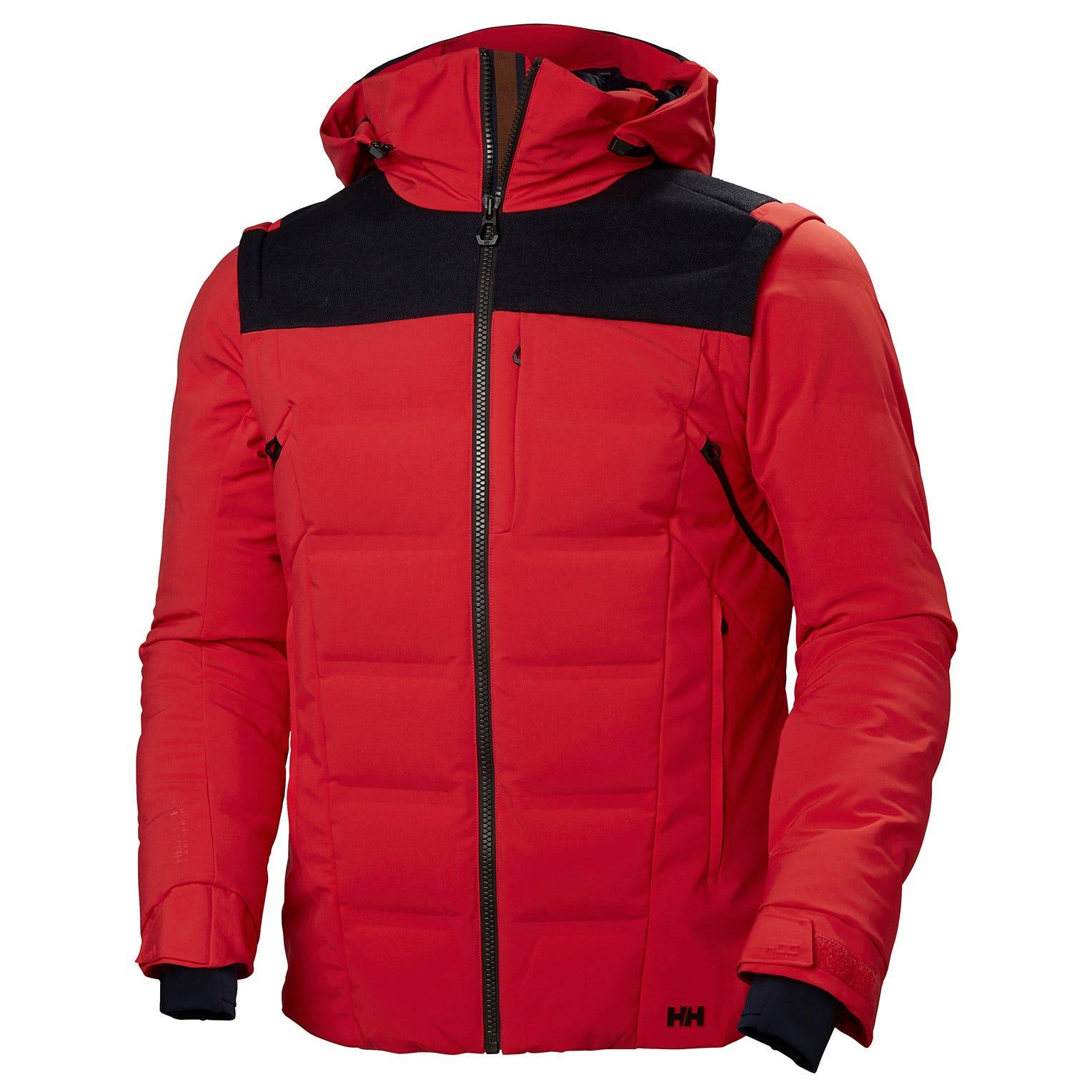 Helly Hansen Mens Kitzbühel Puffy Jacket Red XL