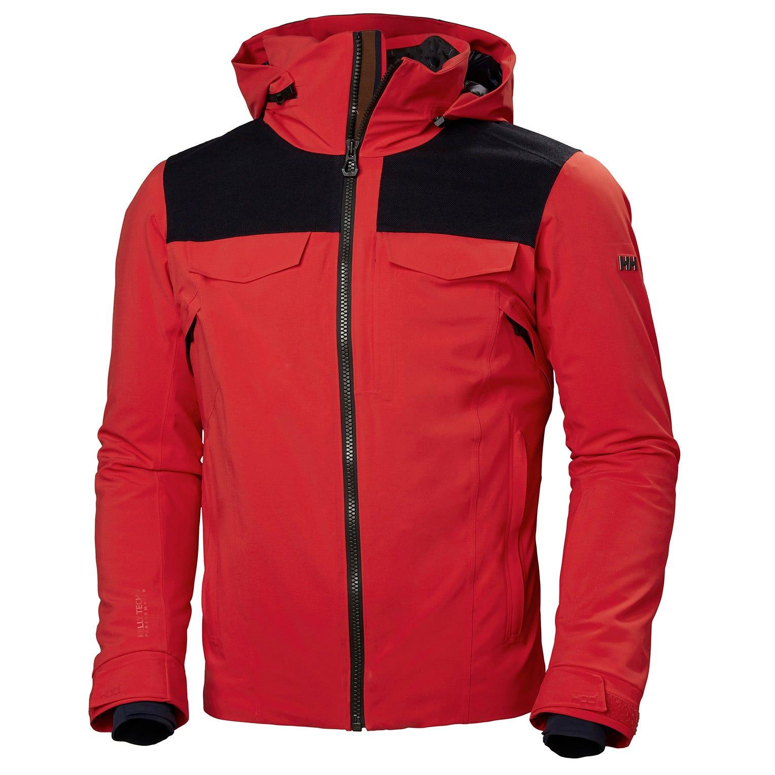 Helly Hansen Mens Jackson Jacket Red XL