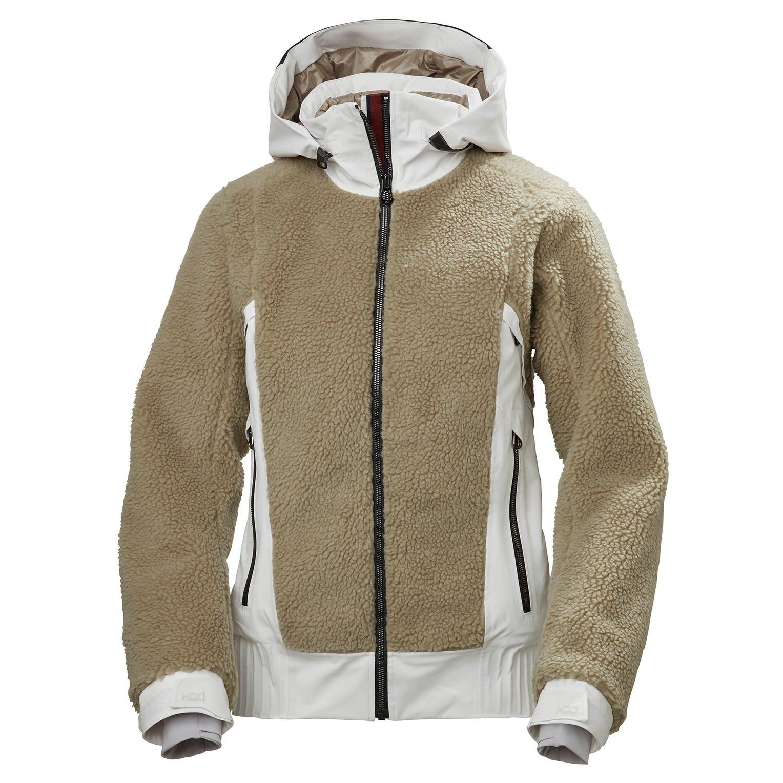 Helly Hansen Womens Courchevel Waterproof Ski Jacket White S