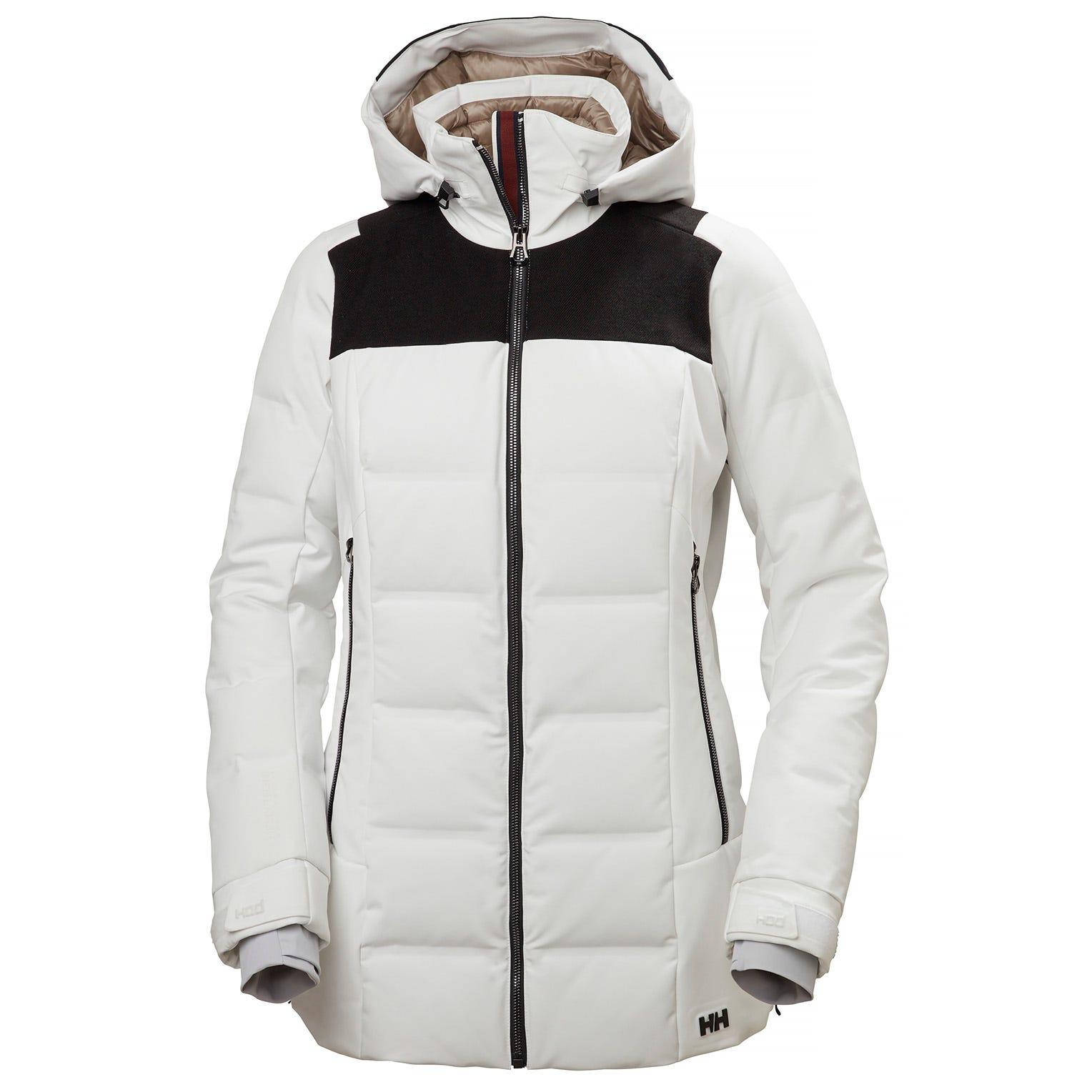 Helly Hansen Womens Verbier Puffy Jacket White L