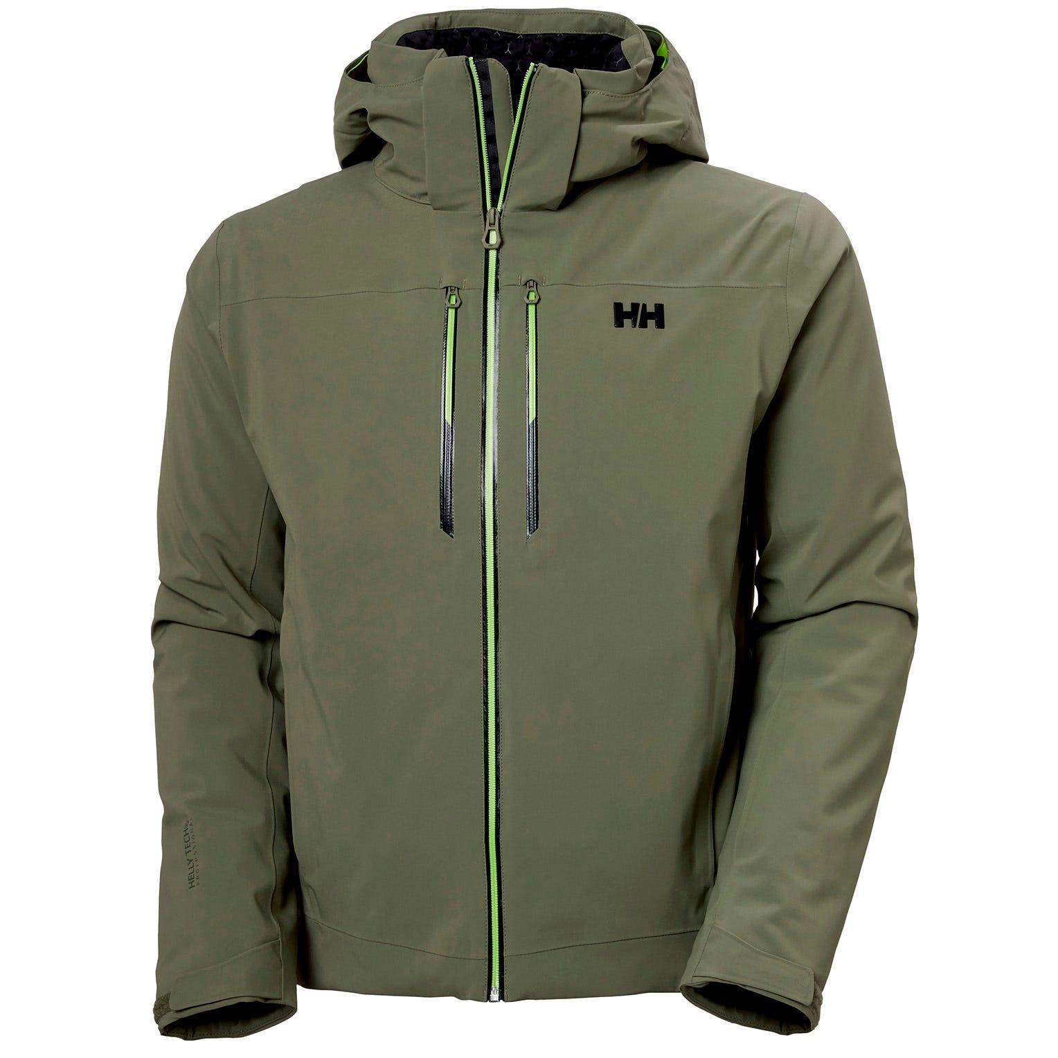 Helly Hansen Mens Alpha Lifaloft Lightweight Ski Jacket L