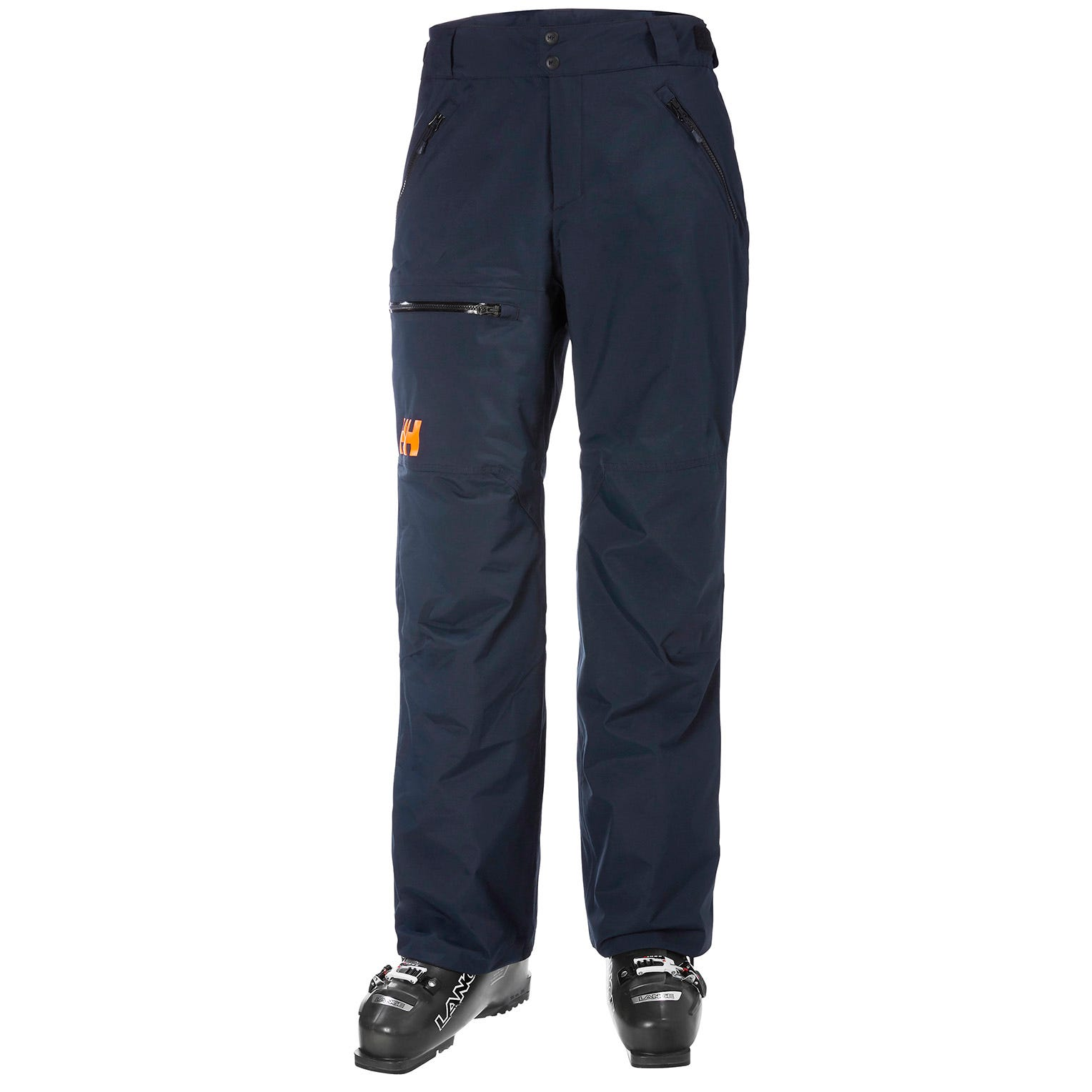 Mens Sogn Insulated Cargo Ski Trousers | Helly Hansen Mens Trouser Navy XL