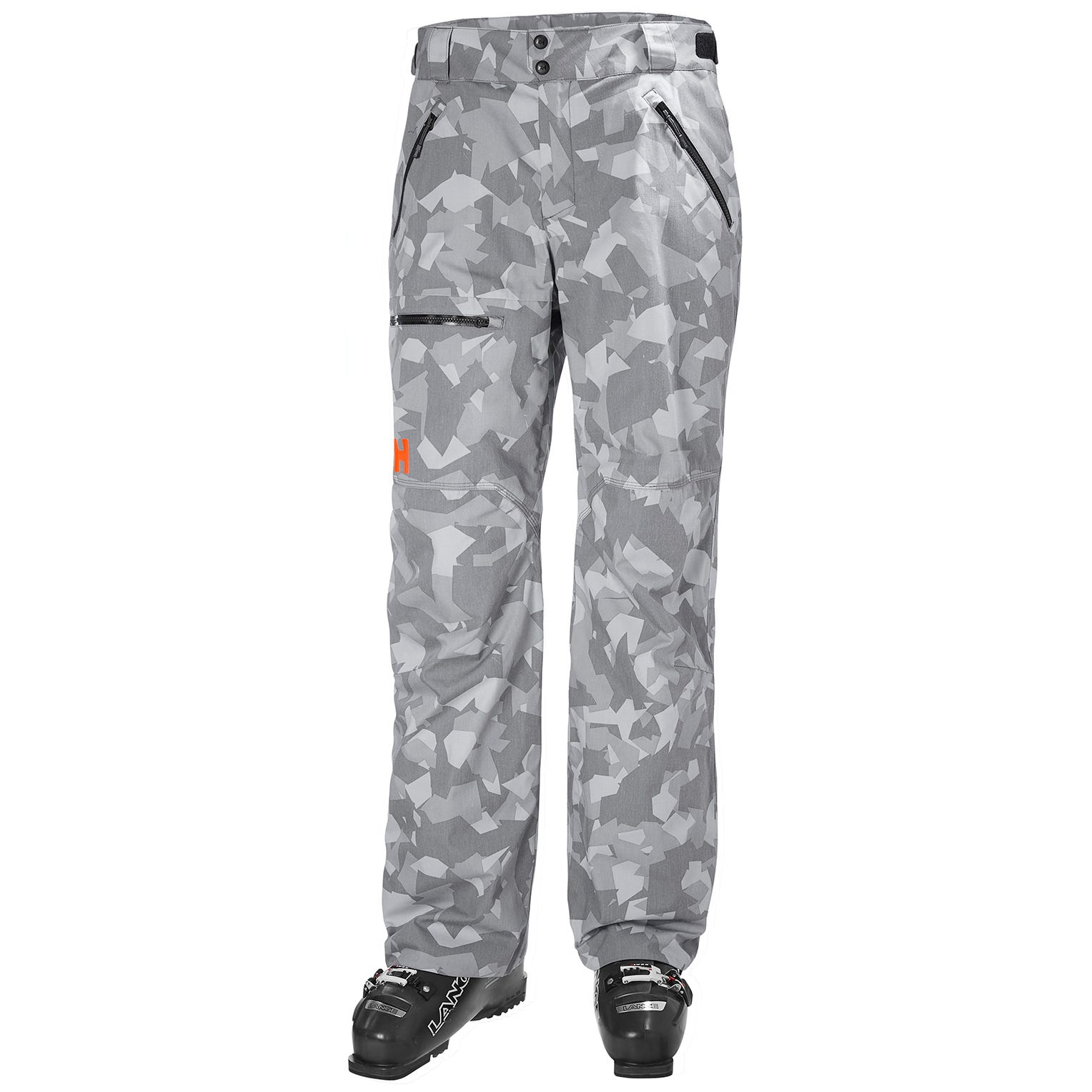 Mens Sogn Insulated Cargo Ski Trousers | Helly Hansen Mens Trouser Grey L