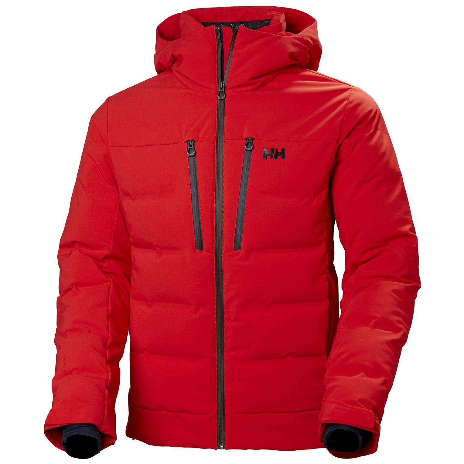 Helly Hansen Mens Rivaridge Puffy Jacket Red XXL