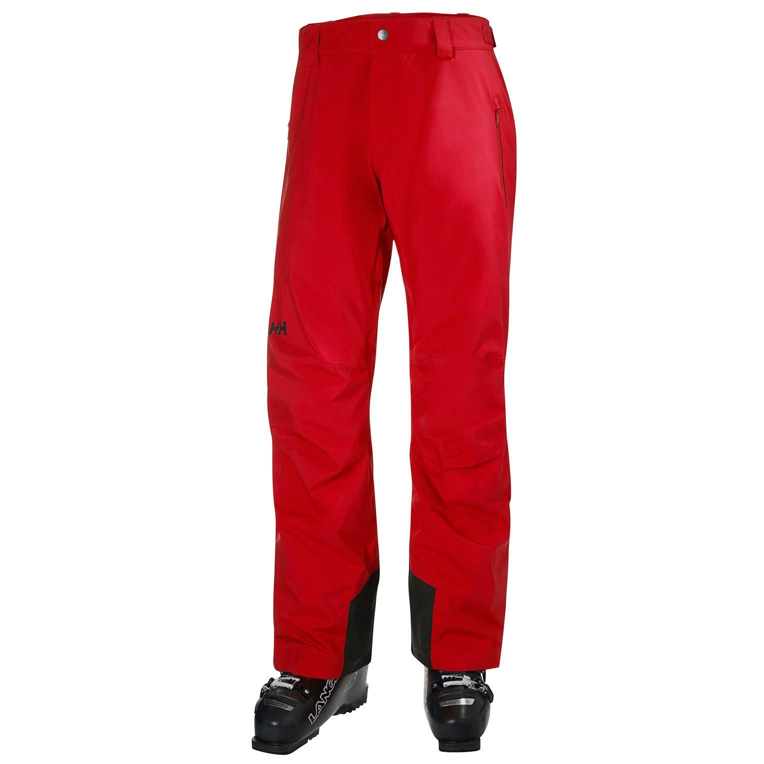 Mens Legendary Insulated Ski Trousers | Uk Helly Hansen Mens Trouser Red L