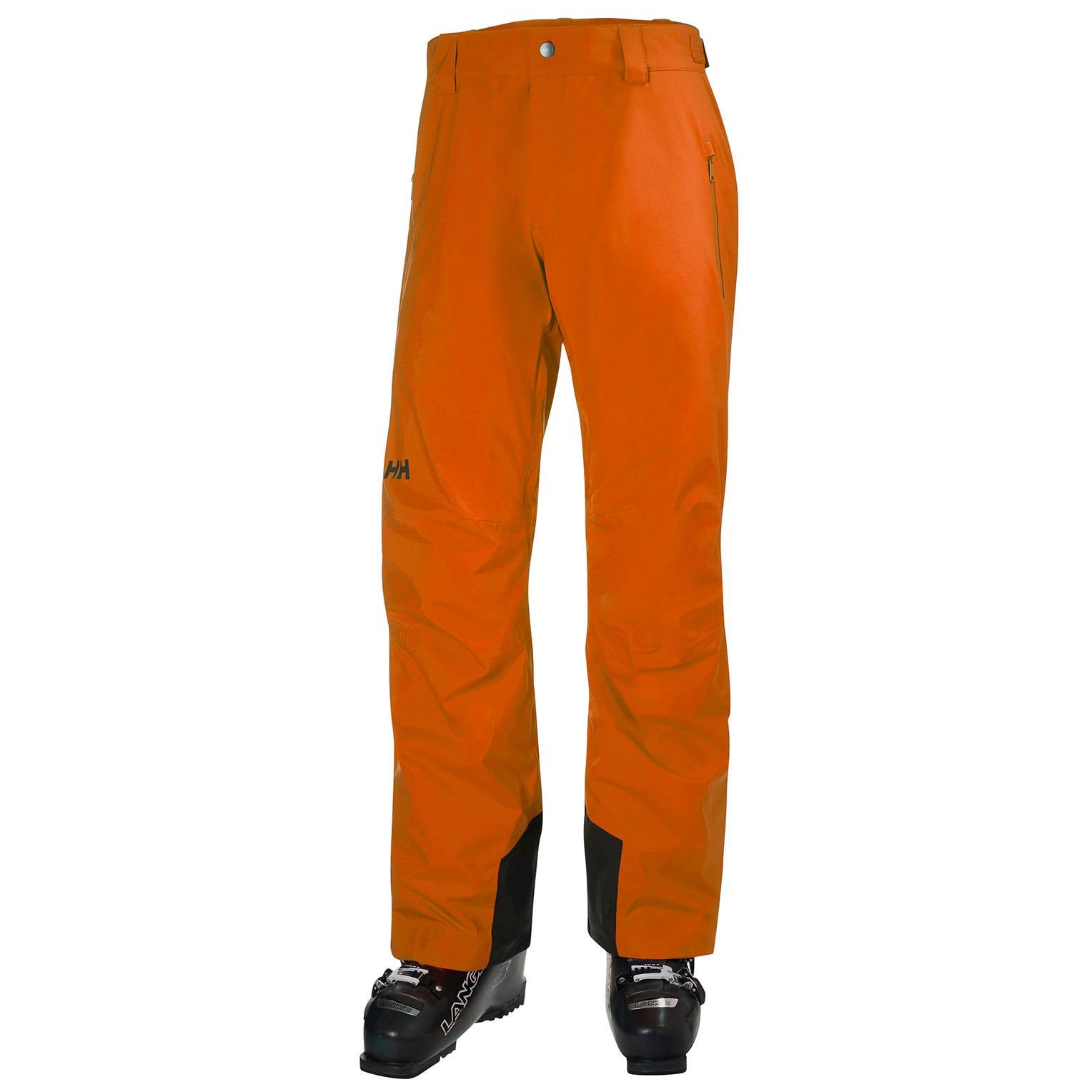 Mens Legendary Insulated Ski Trousers | Uk Helly Hansen Mens Trouser Orange XL