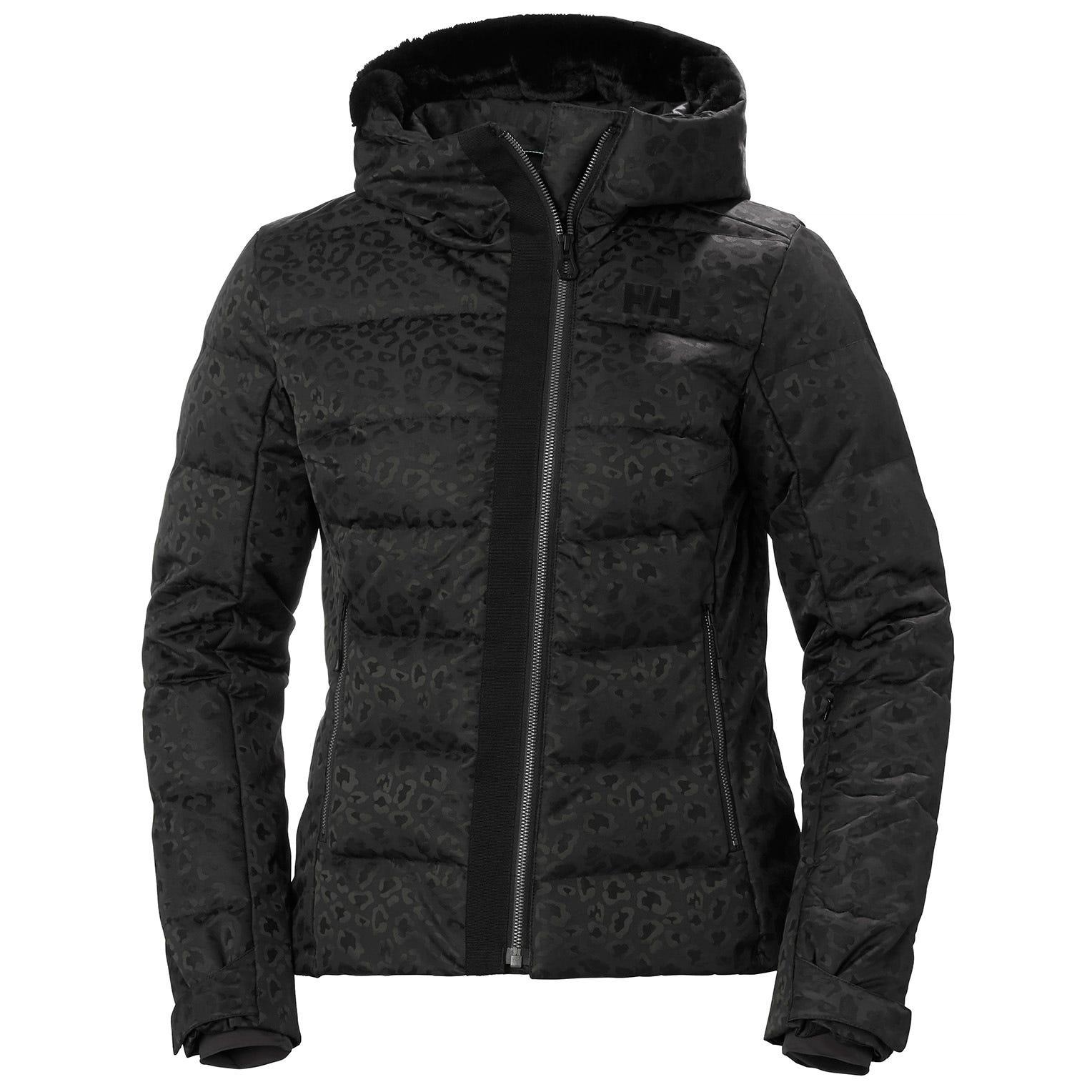 Helly Hansen Womens Valdisere Puffy Ski Jacket Black Xs