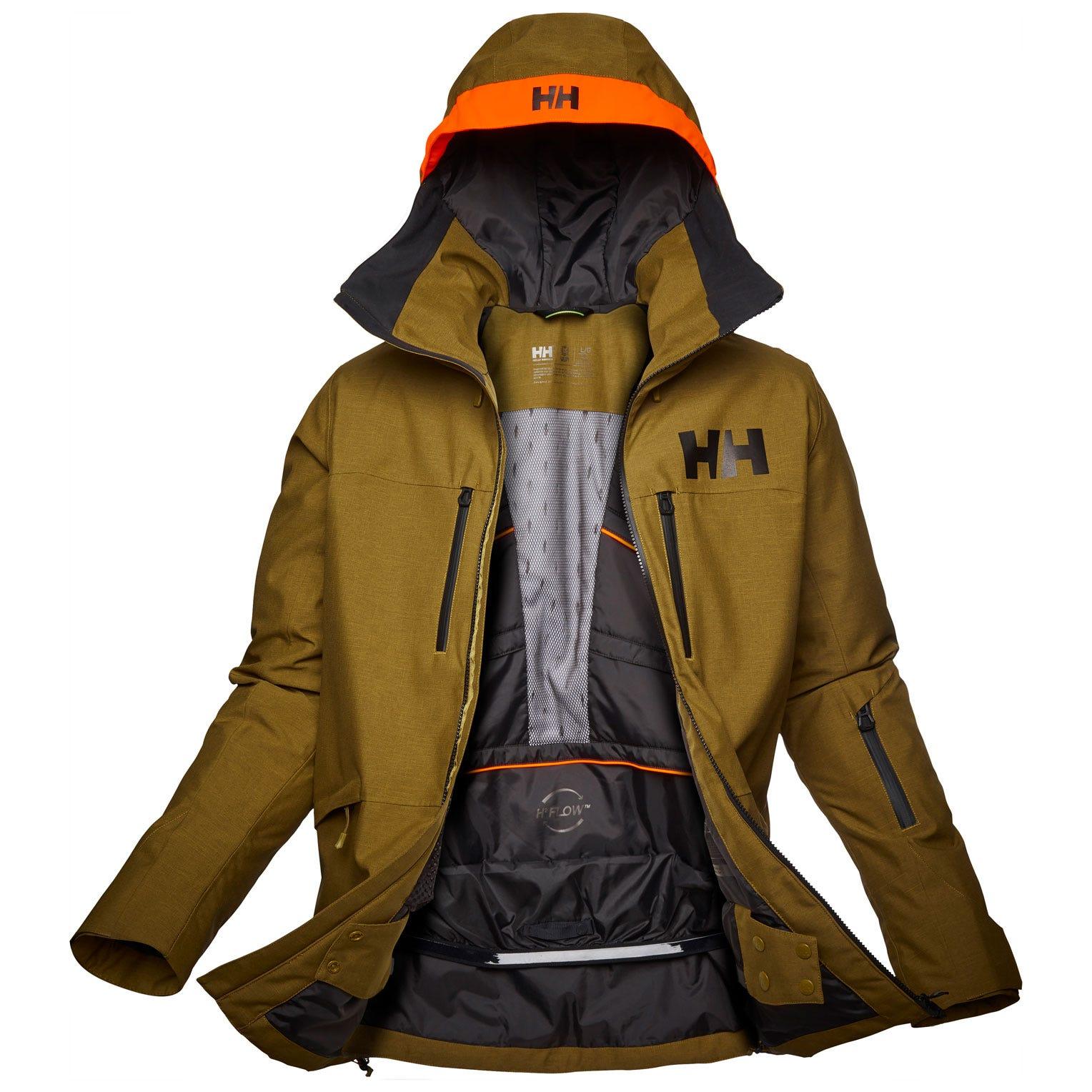 Helly Hansen Mens Garibaldi 2.0 Waterproof Ski Jacket L