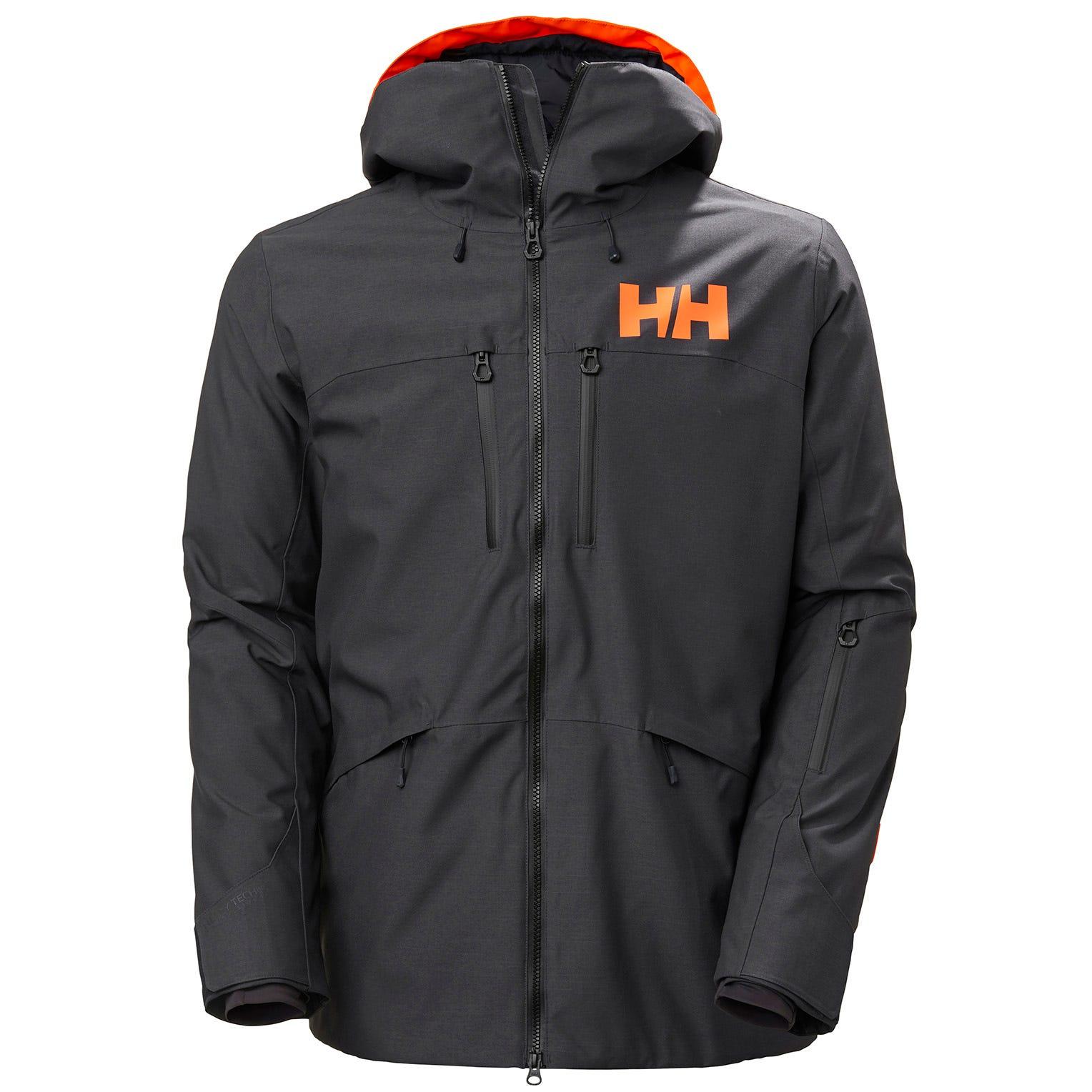 Helly Hansen Mens Garibaldi 2.0 Waterproof Ski Jacket Grey XL