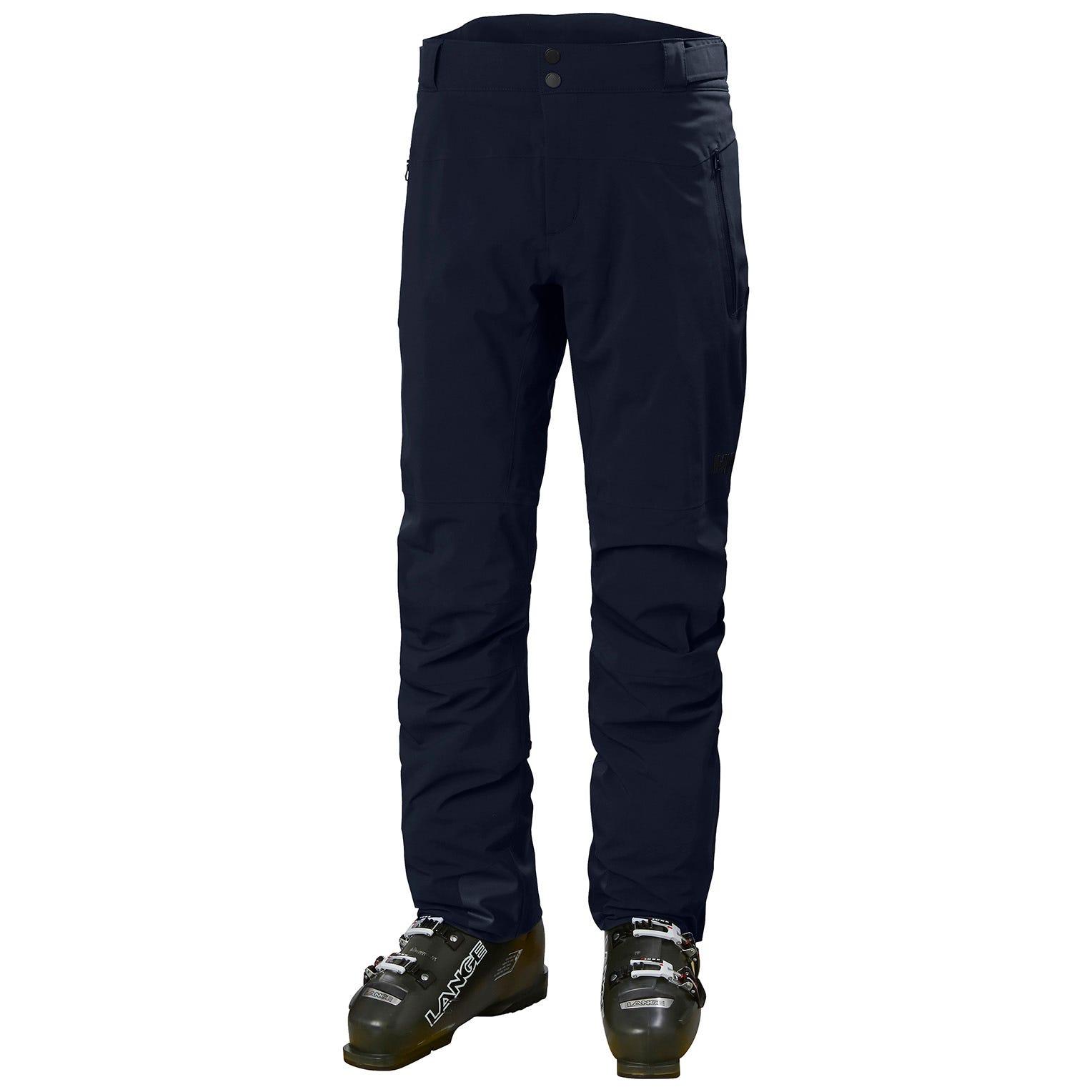Helly Hansen Mens Alpha Lifaloft Lightweight Mountain Ski Trousers Navy XXL