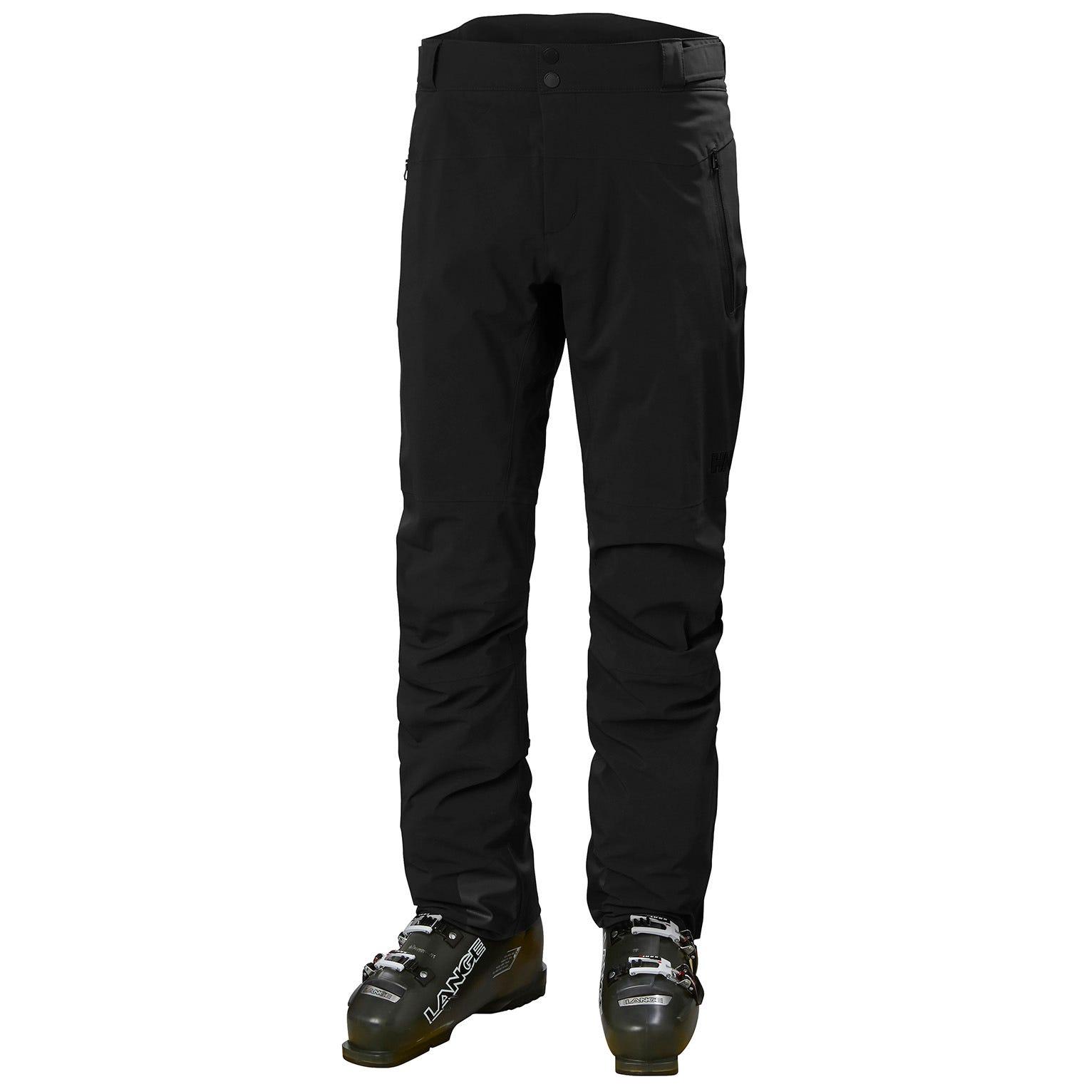 Helly Hansen Mens Alpha Lifaloft Lightweight Mountain Ski Trousers Black M