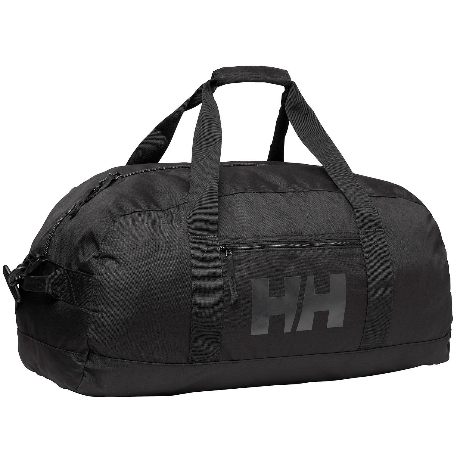 Helly Hansen Sport Duffel 70l - Durable Double Layer Bottom Bag Black STD