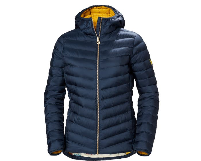 W VERGLAS HOODED DOWN INS OG18
