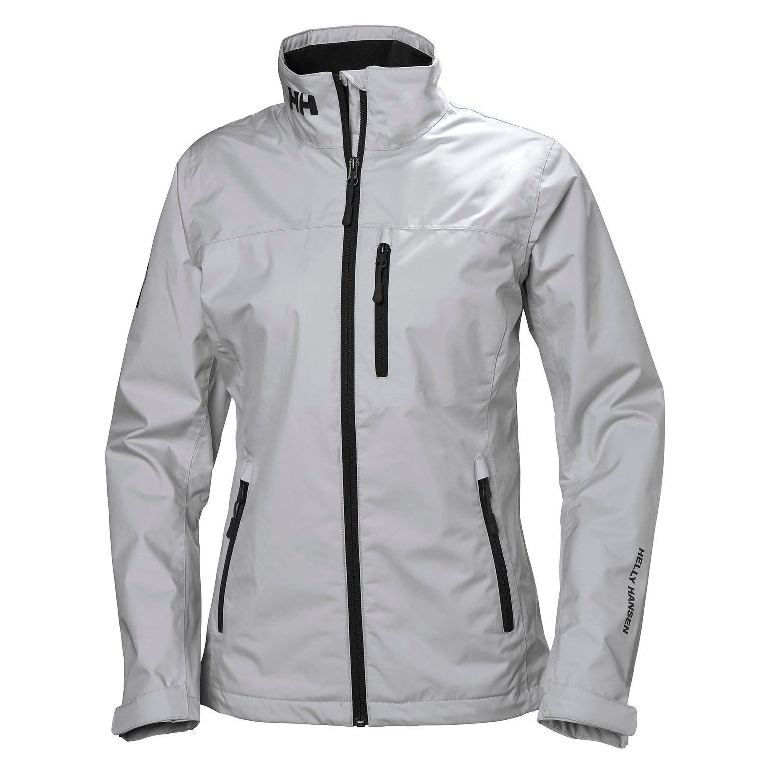Helly Hansen Womens Crew Lightweight Waterproof Windproof Breathable Sailing Rain Coat Jacket