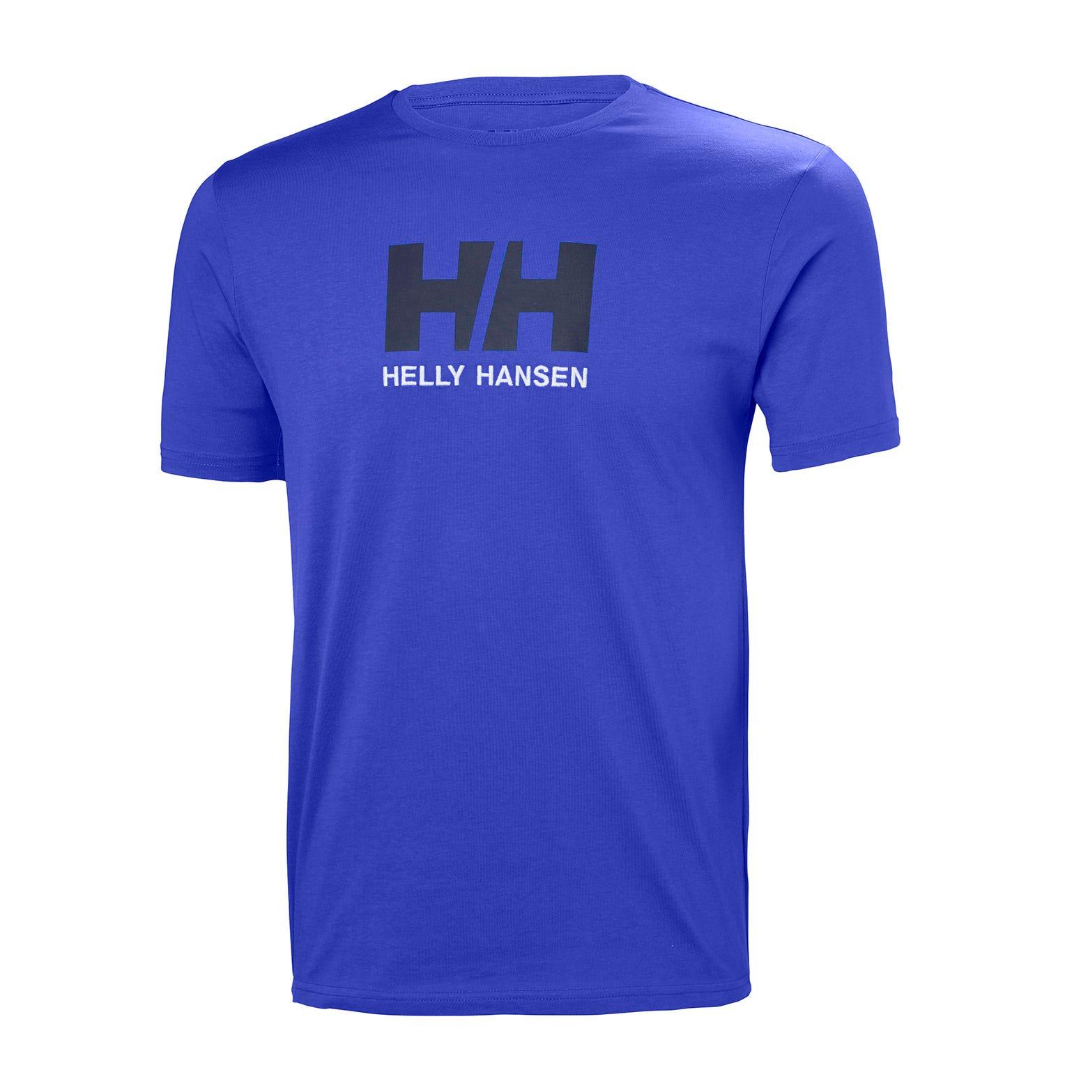 V/êtement Confectionn/é en Europe avec Le Logo sur La Poitrine Id/éal pour Tous Les Jours Helly Hansen HH Logo T-Shirt Manches Courtes en Coton pour Homme