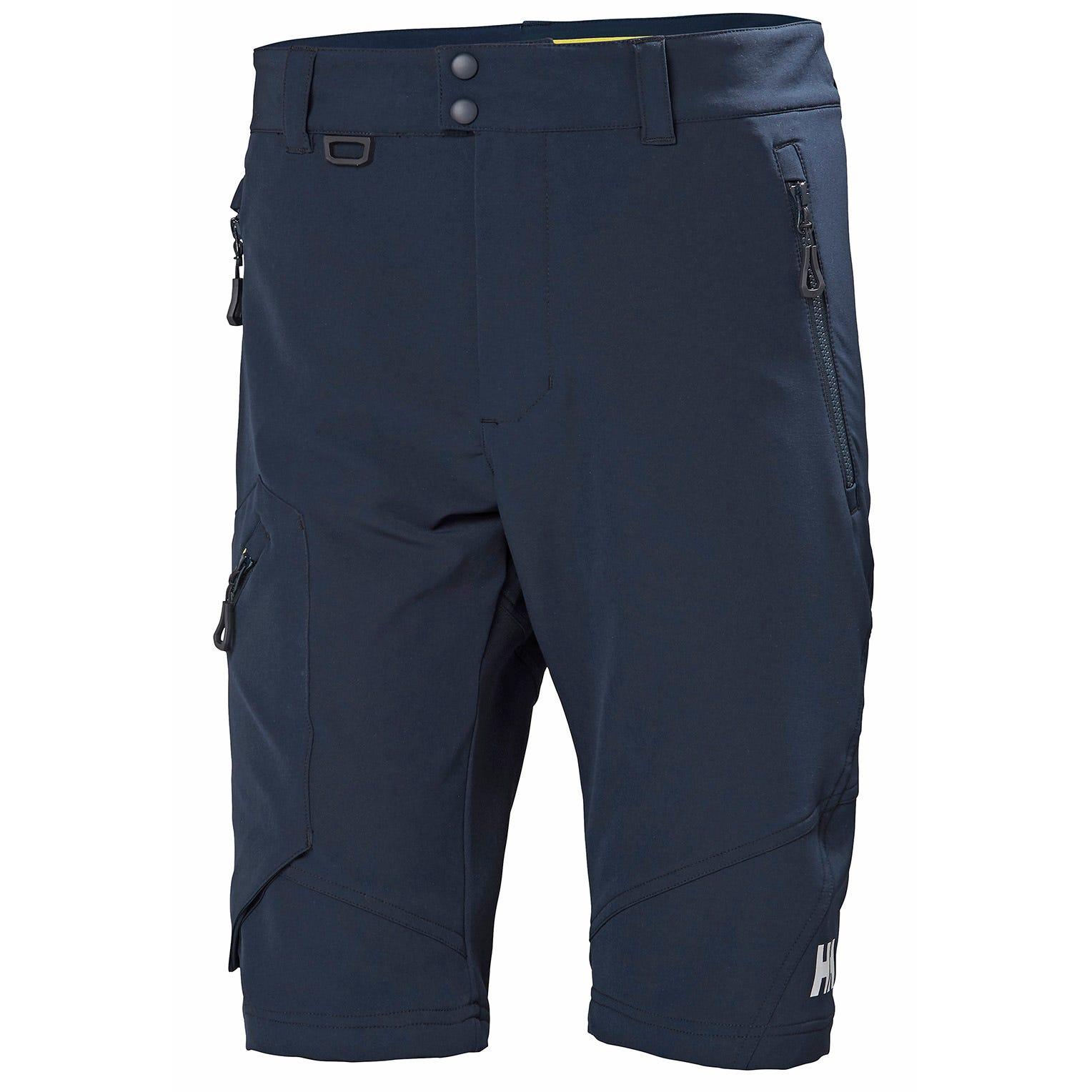 Orange//Navy Blue C52 Helly Hansen 76495/_265-C52 Bridgewater Hi-Vis Shorts