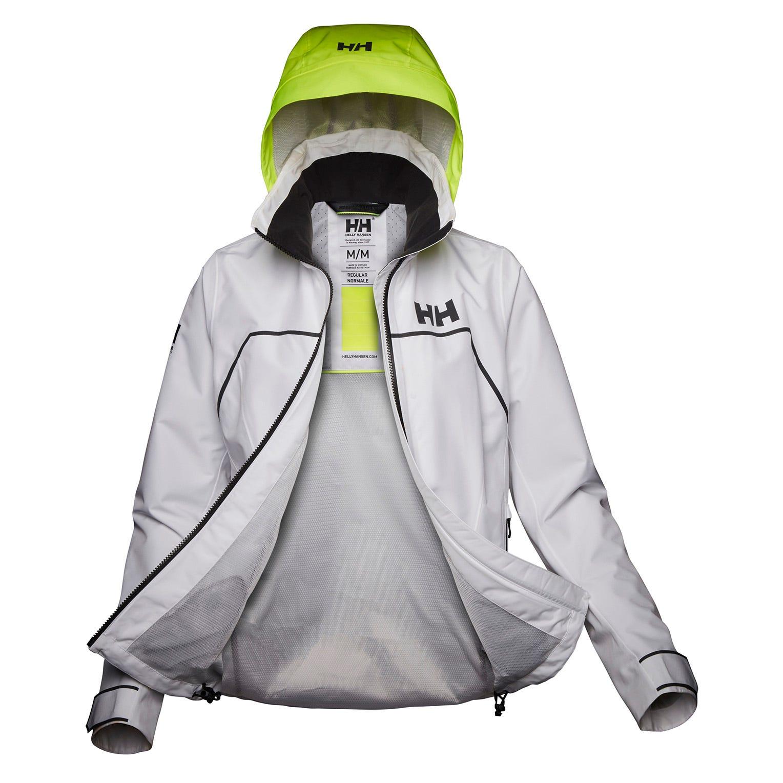Helly-Hansen Womens HP Foil Light Jacket Waterproof Windproof Breathable Sailing Jacket