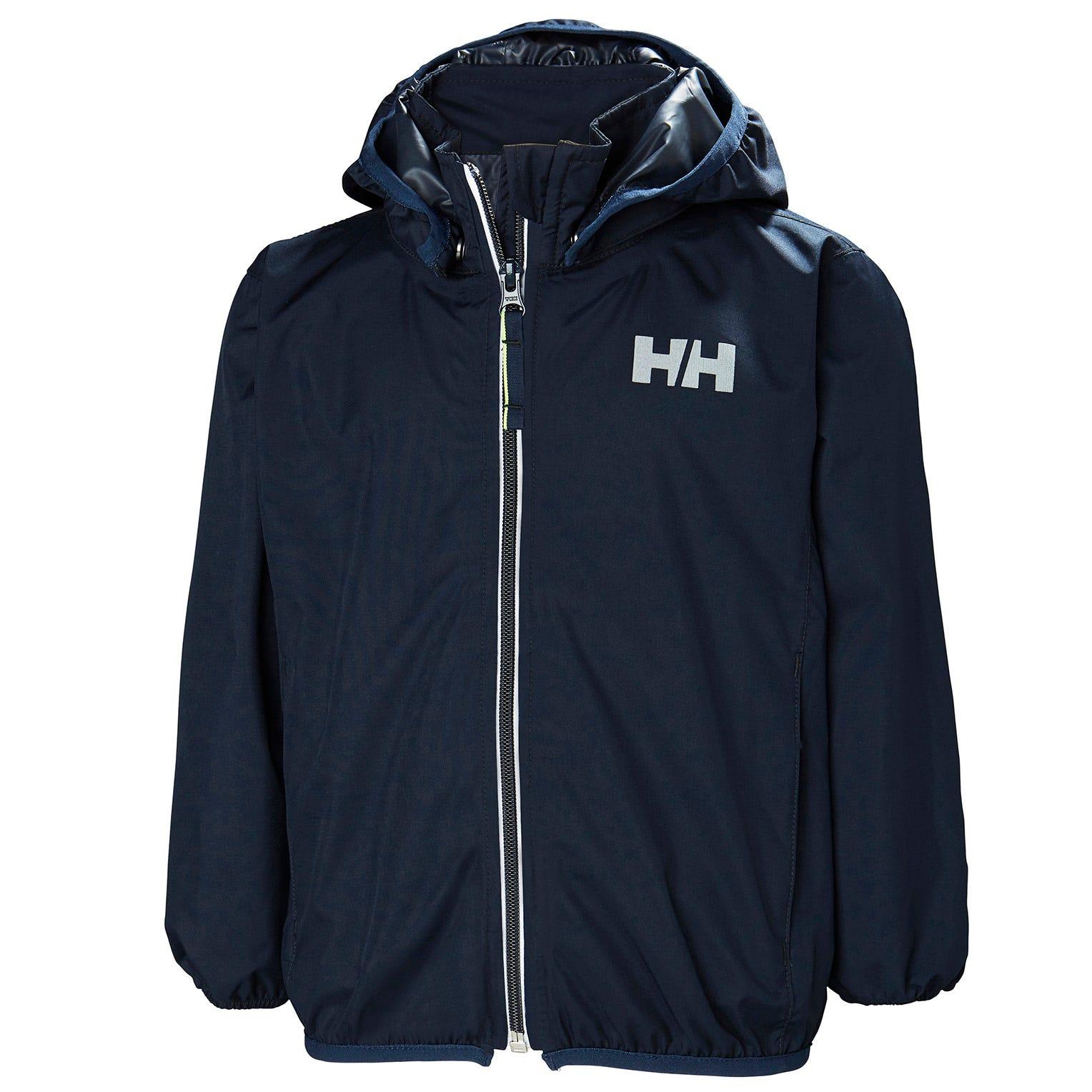 Navy 8 A/ños Helly Hansen K Helium Packable Chaqueta Unisex ni/ños