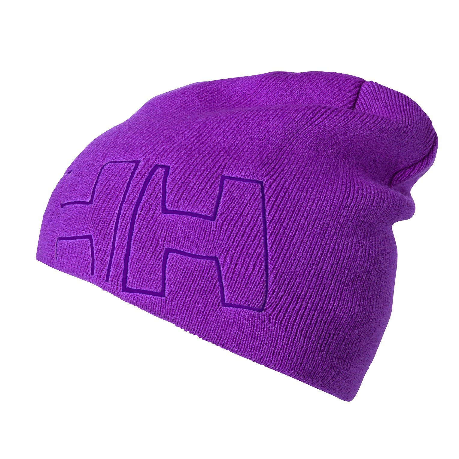 Helly-Hansen Kids /& Baby K Outline Beanie Outline Knitted Hh Iconic Logo Brand Beanie