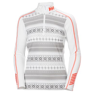 W HH LIFA ACTIVE GRAPHIC 1/2 ZIP