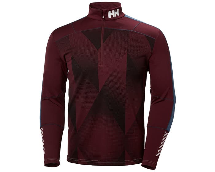 HH LIFA ACTIVE GRAPHIC 1/2 ZIP