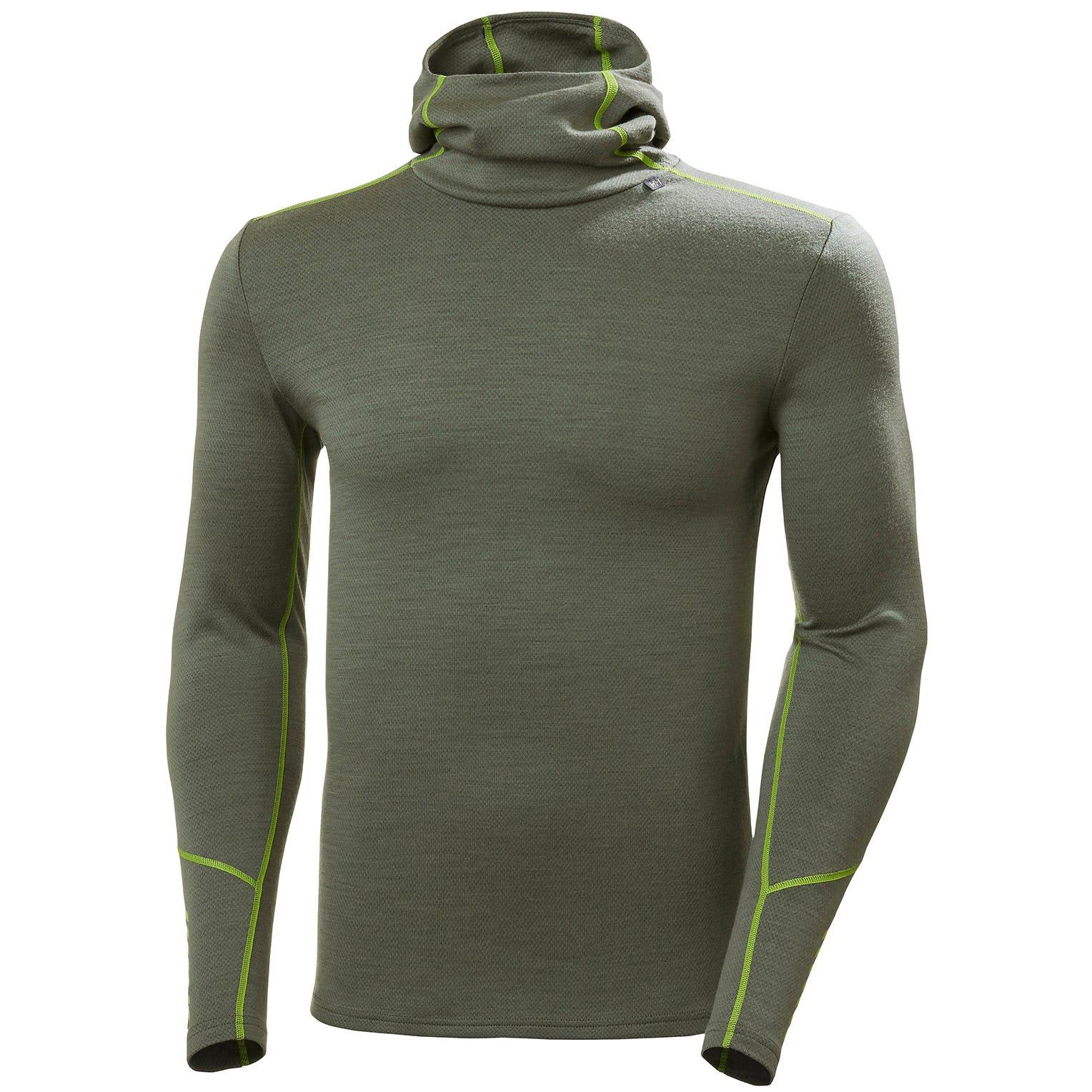 Helly Hansen Mens Lifa Merino Wool 1//2 Zip Exercise Base Layer Top 38/% OFF RRP
